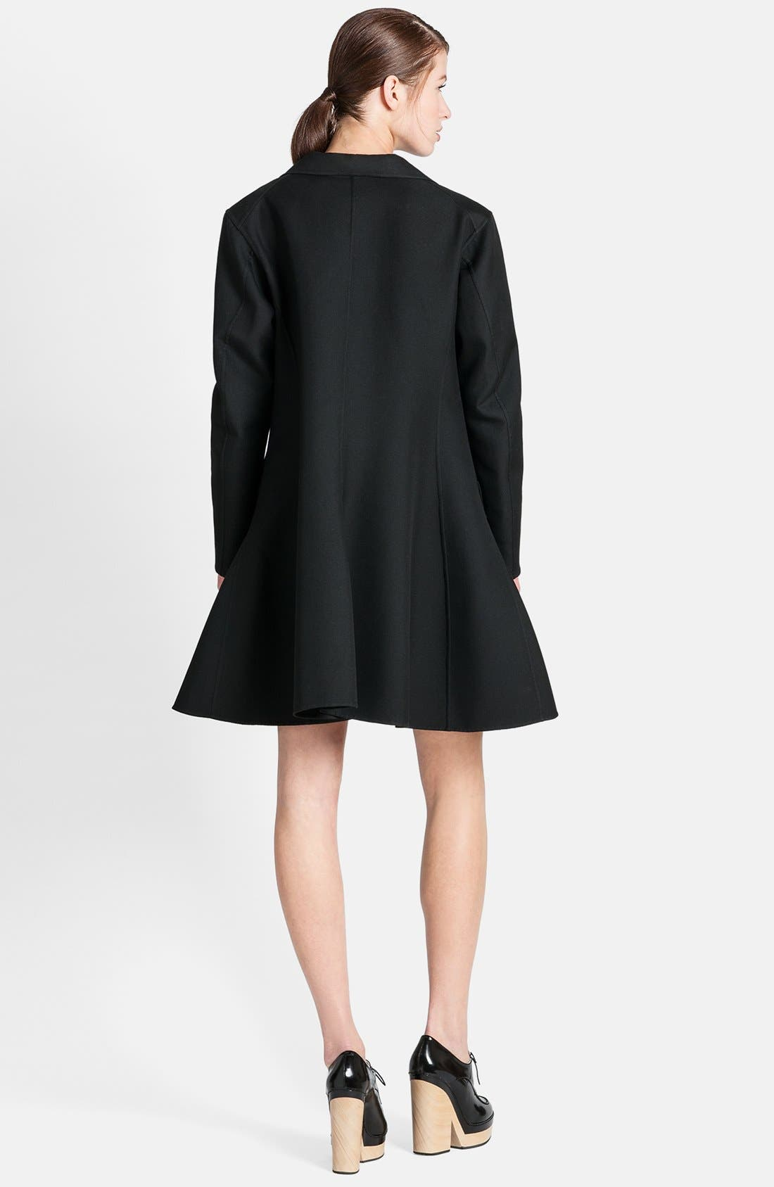Alternate Image 2  - Jil Sander Full Back One-Button Coat
