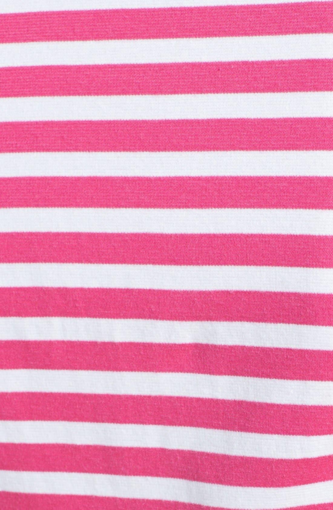 Alternate Image 4  - Betsey Johnson Stripe Fit & Flare Dress