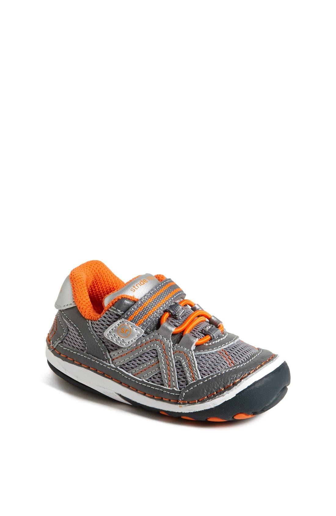 Alternate Image 1 Selected - Stride Rite 'Damien' Sneaker (Baby & Walker)