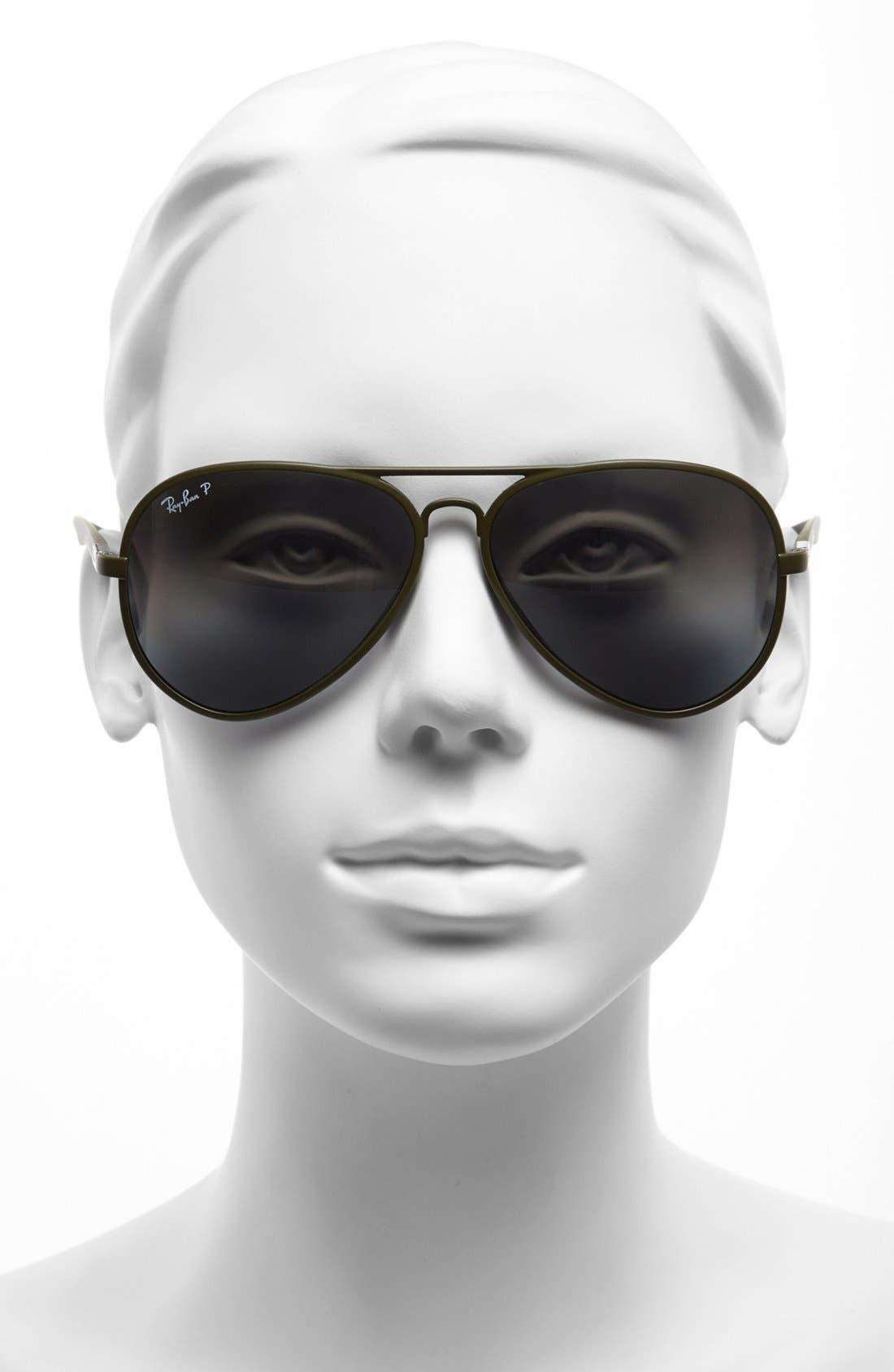 Alternate Image 2  - Ray-Ban 59mm Polarized Aviator Sunglasses