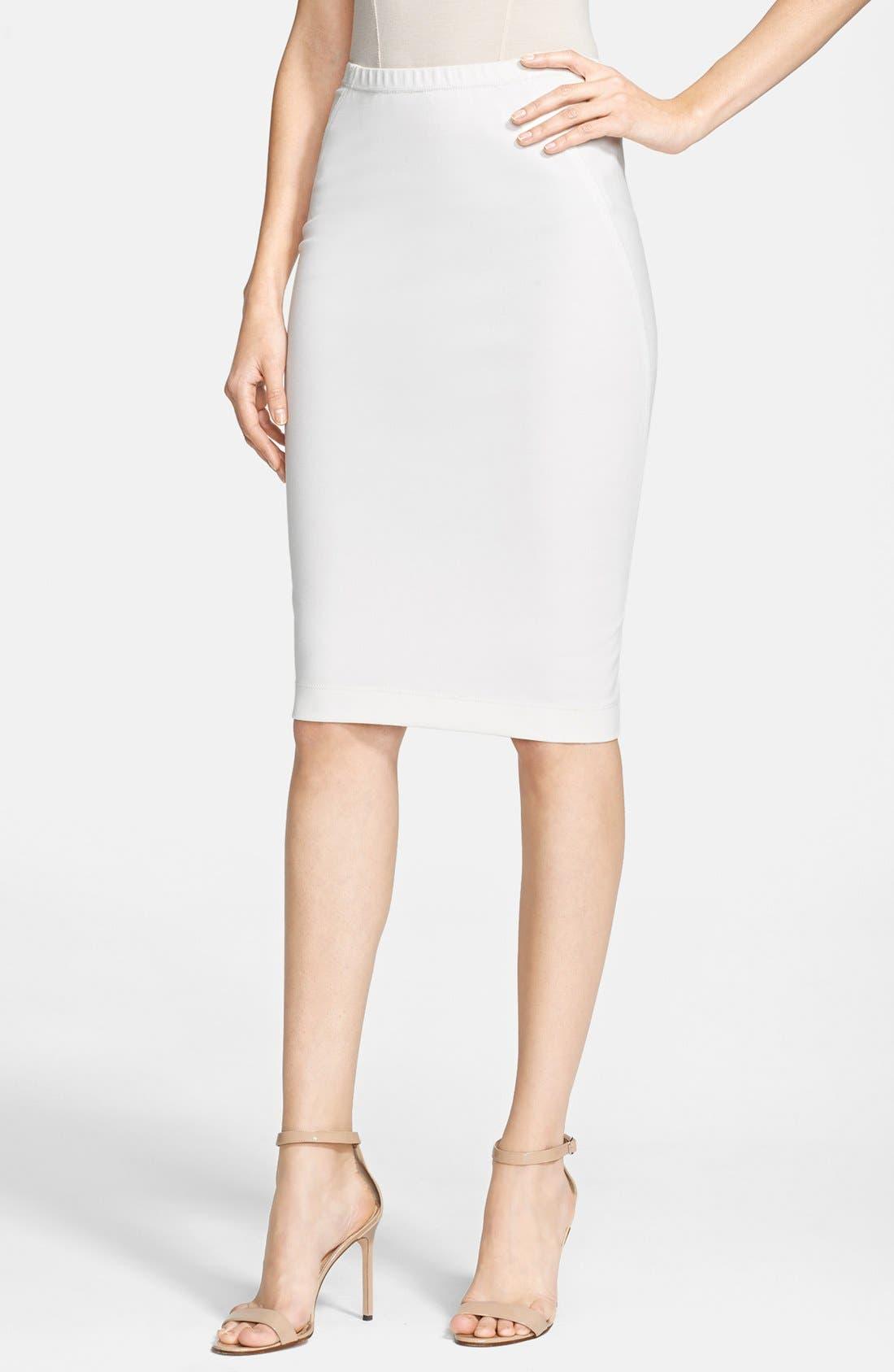 Main Image - Donna Karan New York Jersey Pencil Skirt