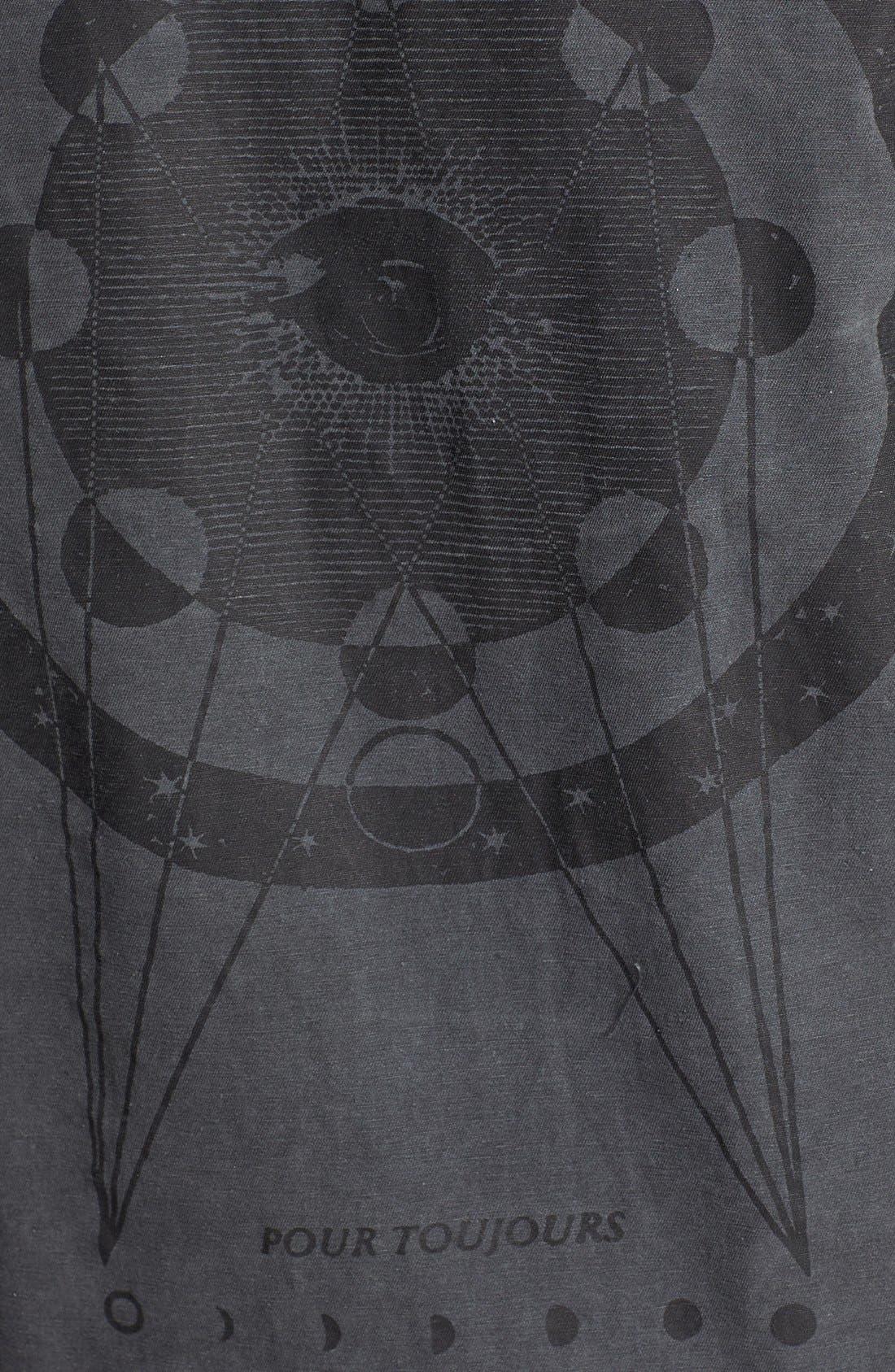 Alternate Image 3  - Knot Sisters 'Walker' Print Cotton Jacket