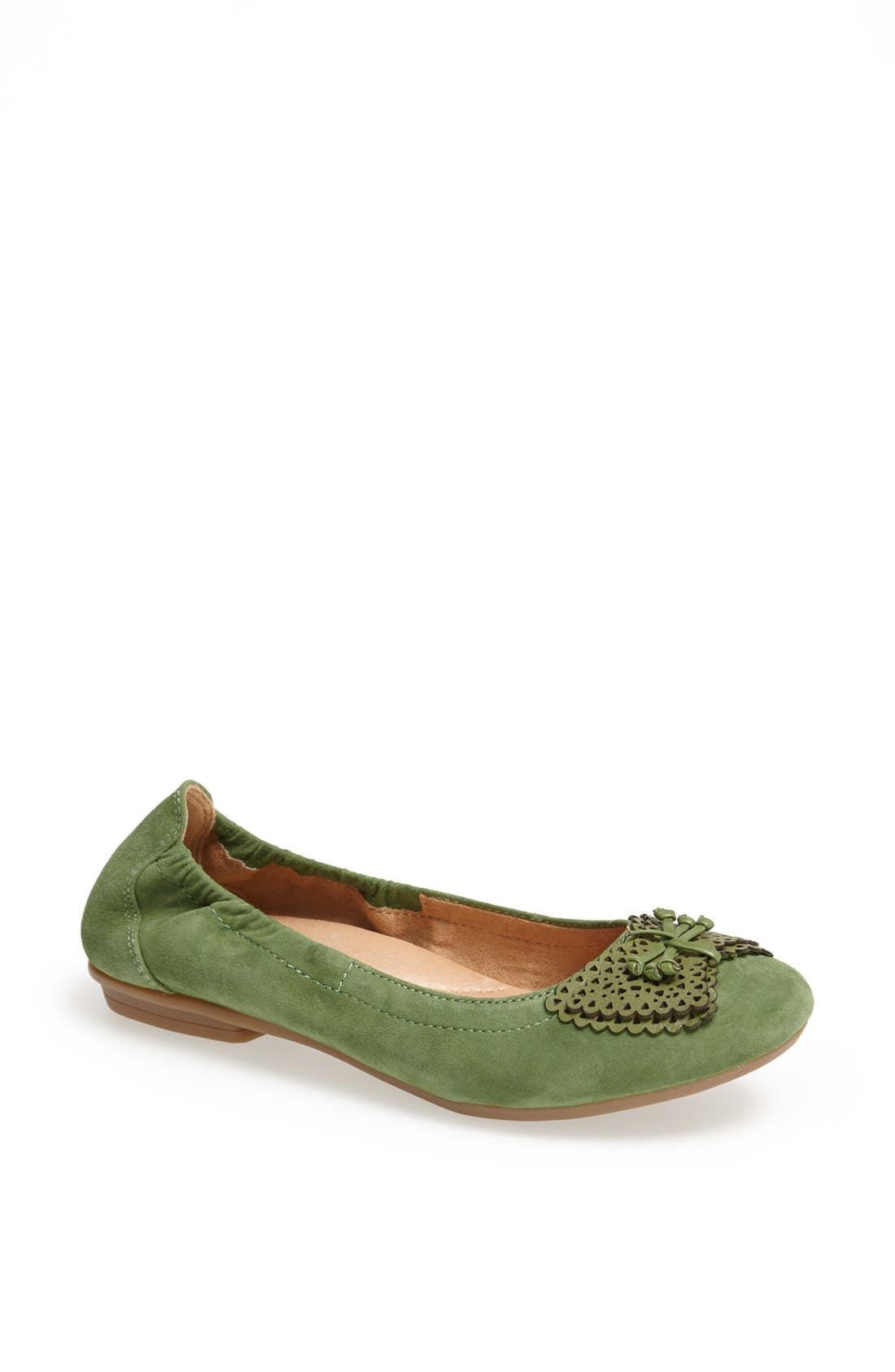 Alternate Image 1 Selected - Earth 'Butterfly' Suede Flat