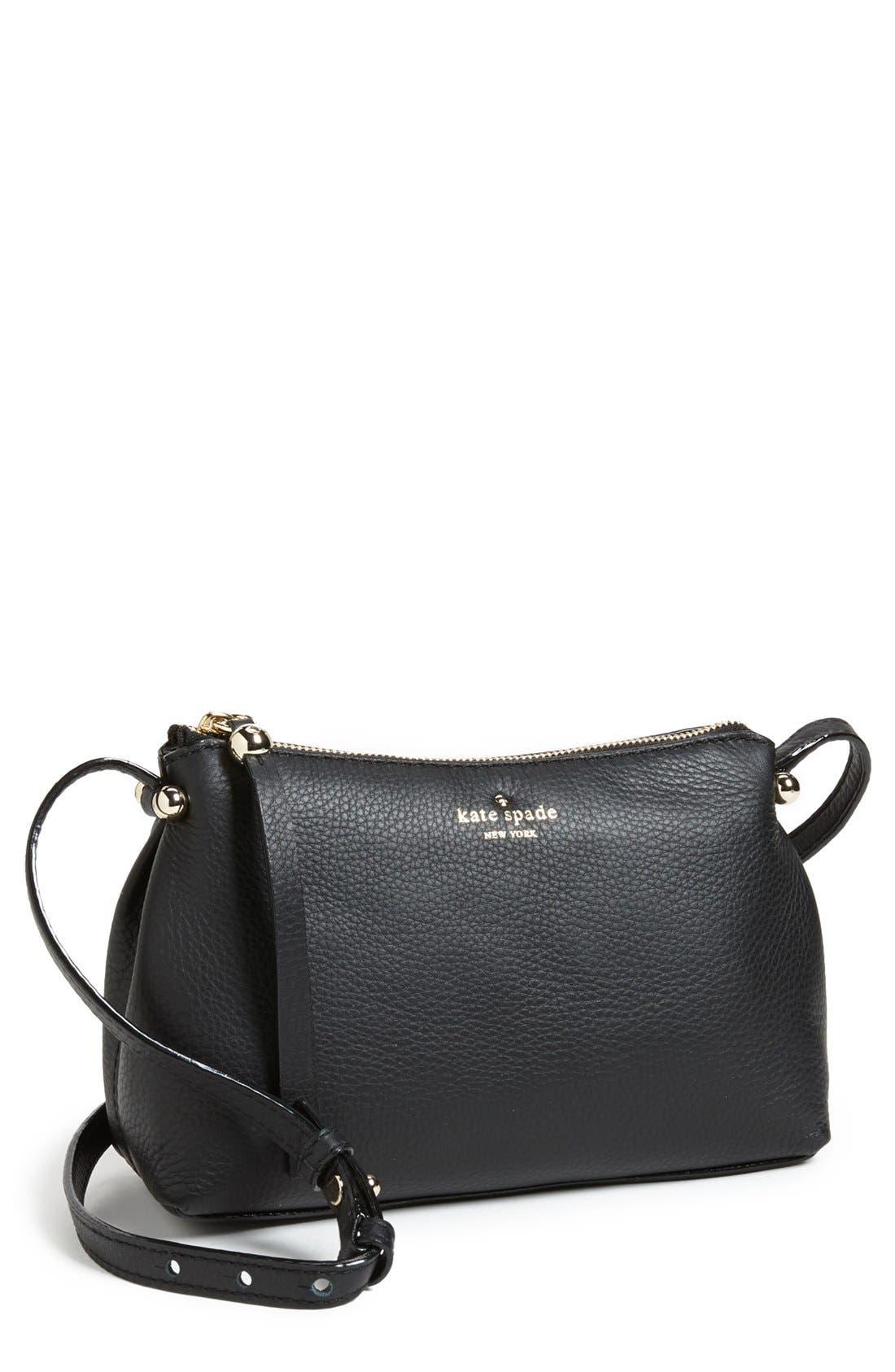 Main Image - kate spade new york 'claudie' leather crossbody bag
