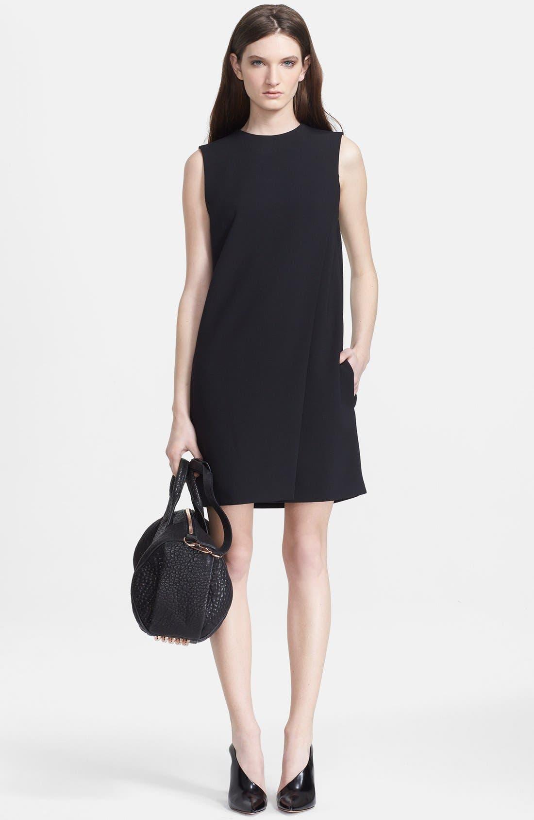 Alternate Image 3  - Alexander Wang Lace-Up Back Folded Dress