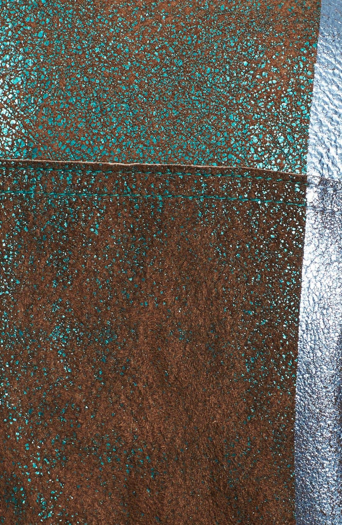 Alternate Image 4  - 3.1 Phillip Lim Foiled Moto Leather Vest