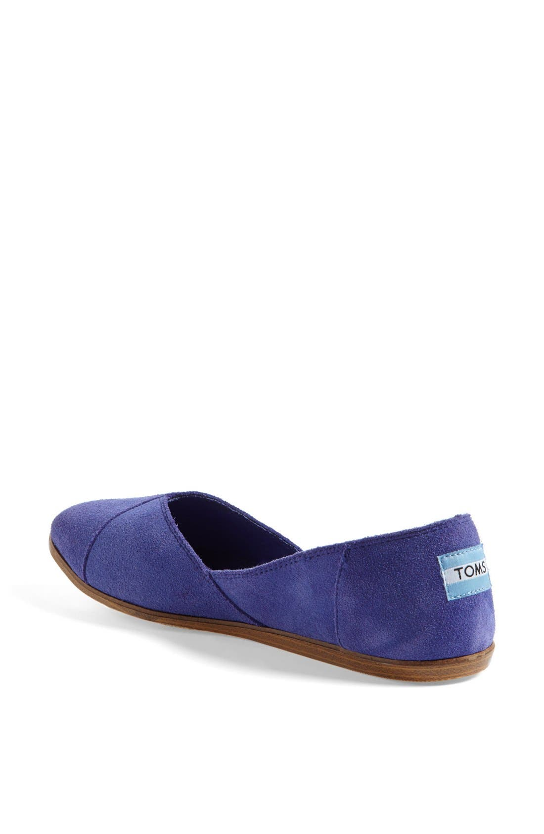 Alternate Image 2  - TOMS 'Jutti' Slip-On (Women)