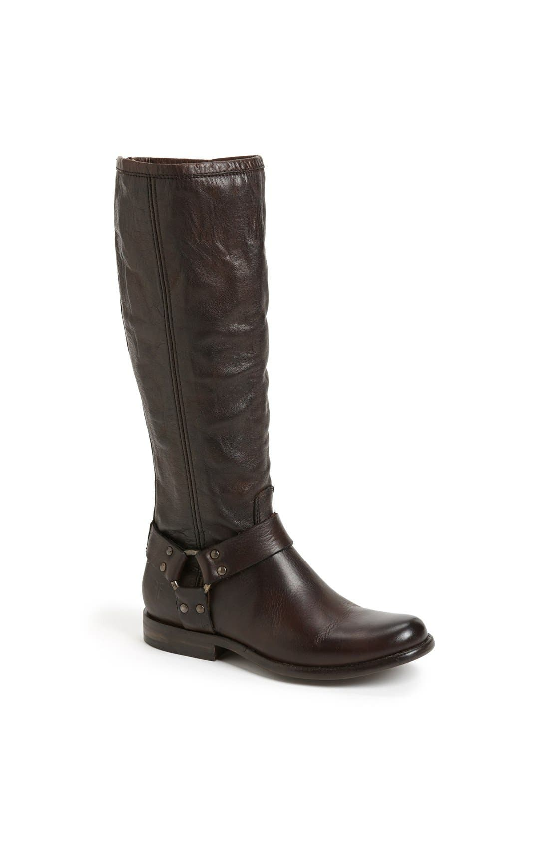 Main Image  Frye Phillip Harness Tall Boot