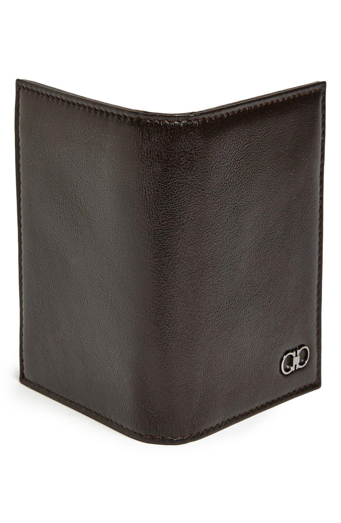 Alternate Image 3  - Salvatore Ferragamo 'New Crackle' Leather Wallet