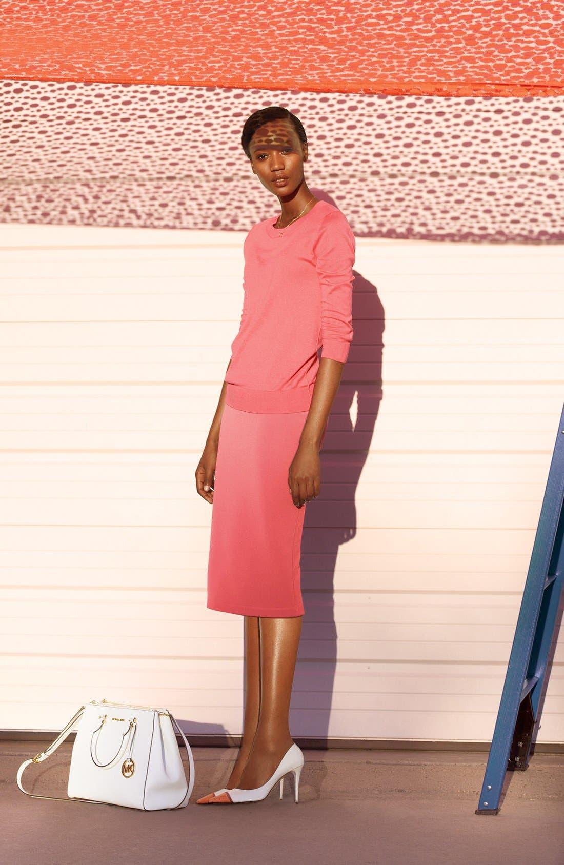 Alternate Image 4  - Halogen® Pencil Skirt (Plus Size)