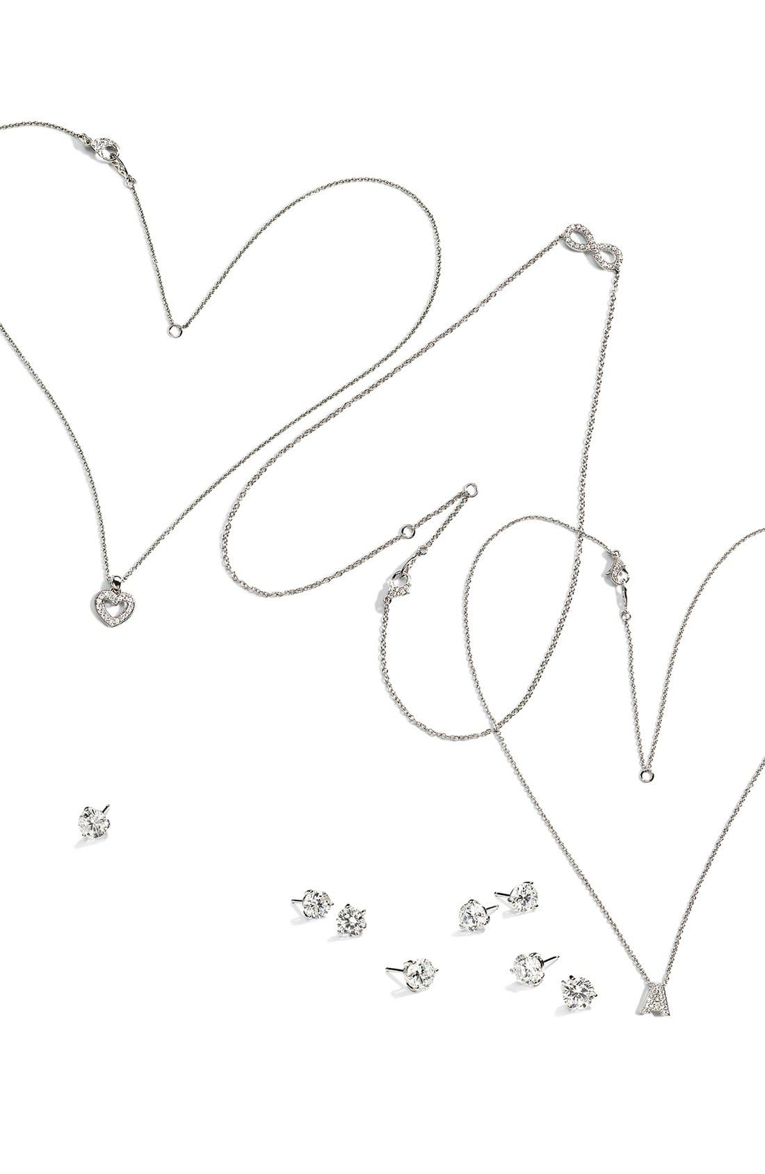 Alternate Image 2  - Nadri Small Heart Pendant Necklace (Nordstrom Exclusive)