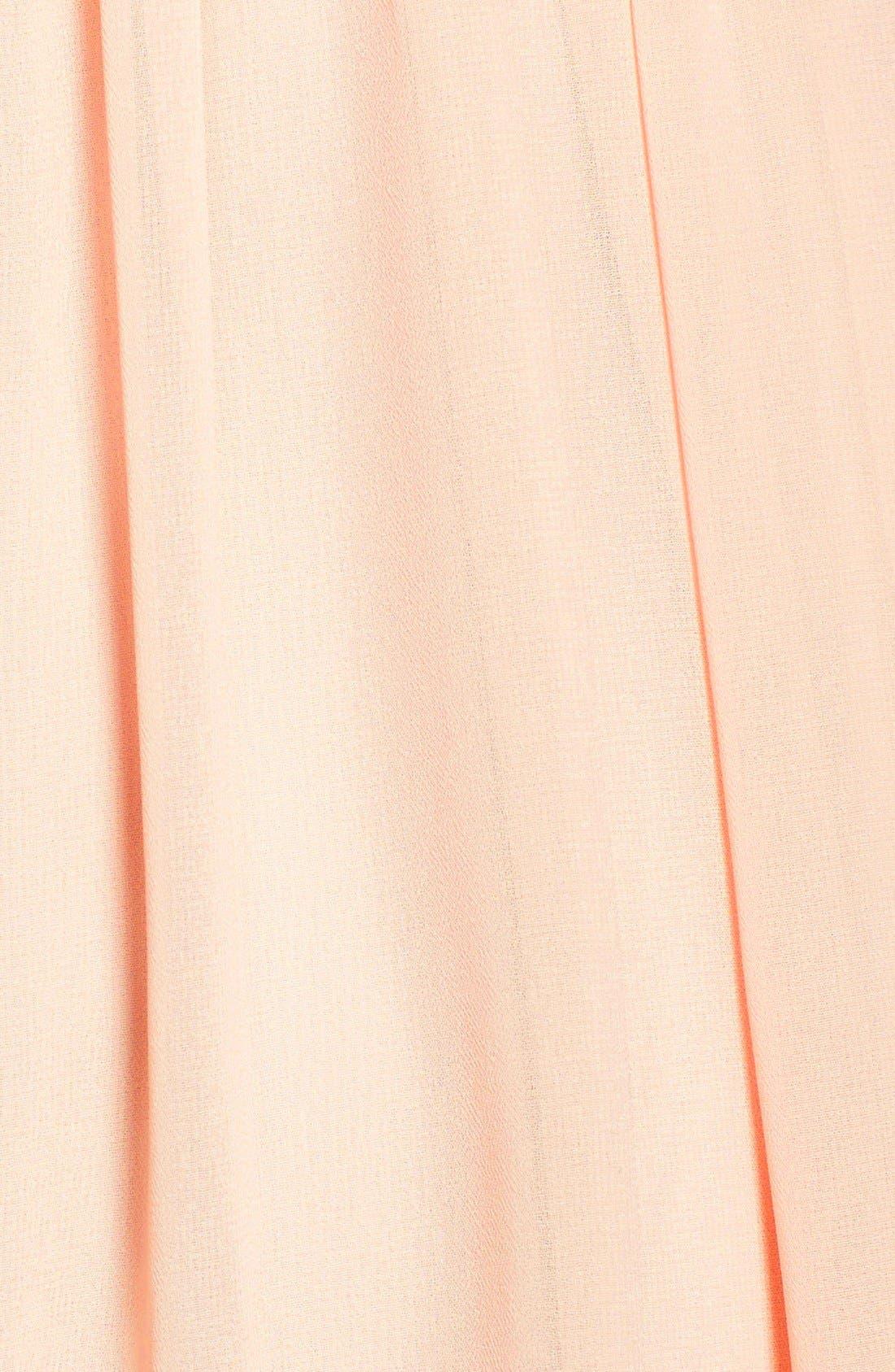 Alternate Image 3  - Jenny Yoo 'Isabel' Ruffled Chiffon Fit & Flare Dress