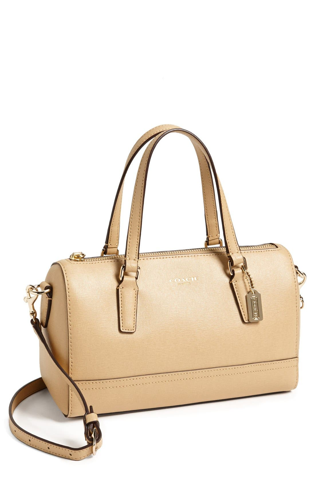 Main Image - COACH 'Mini' Saffiano Leather Satchel