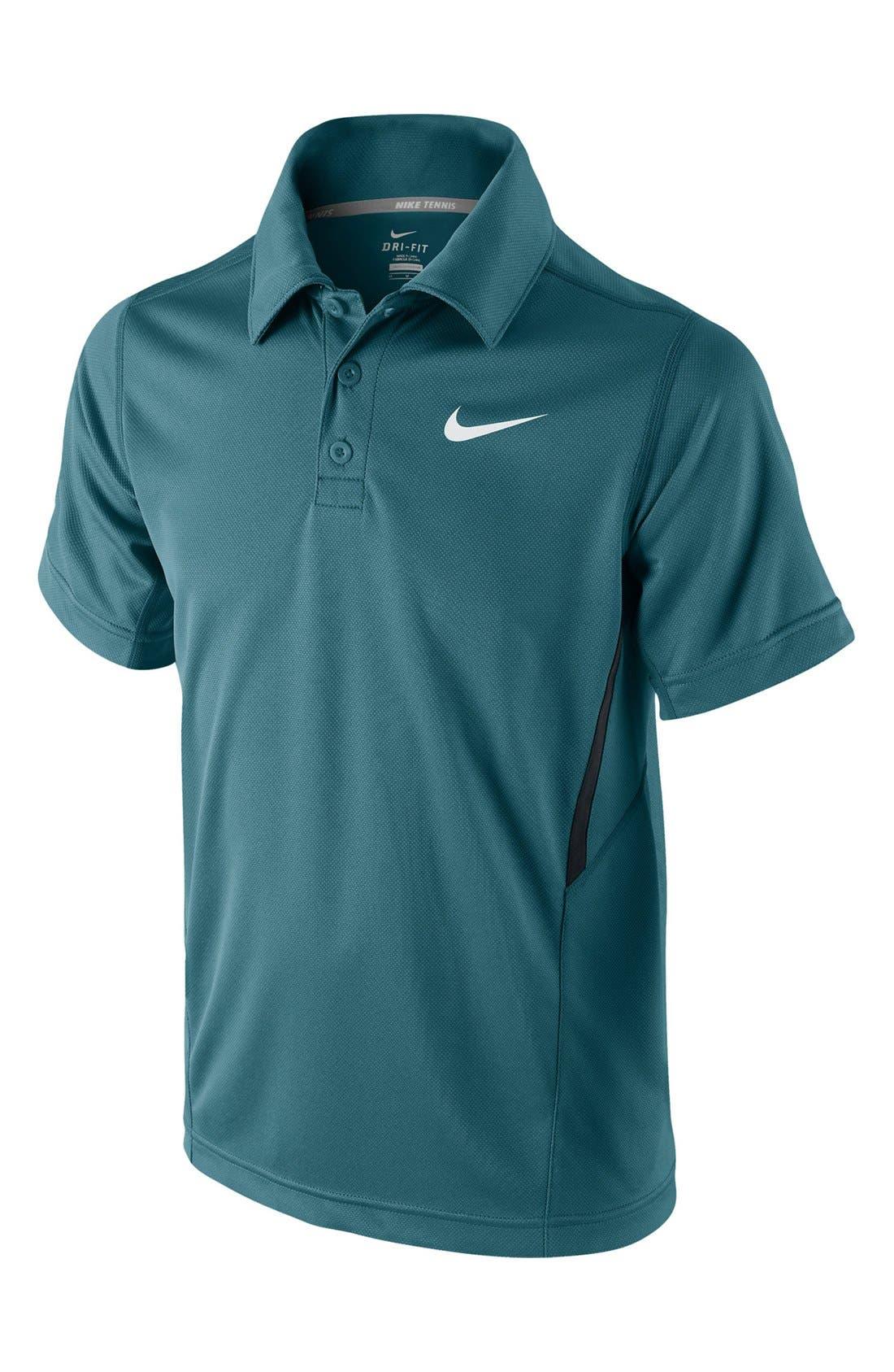 Main Image - Nike 'Boarder' Tennis Polo (Big Boys)
