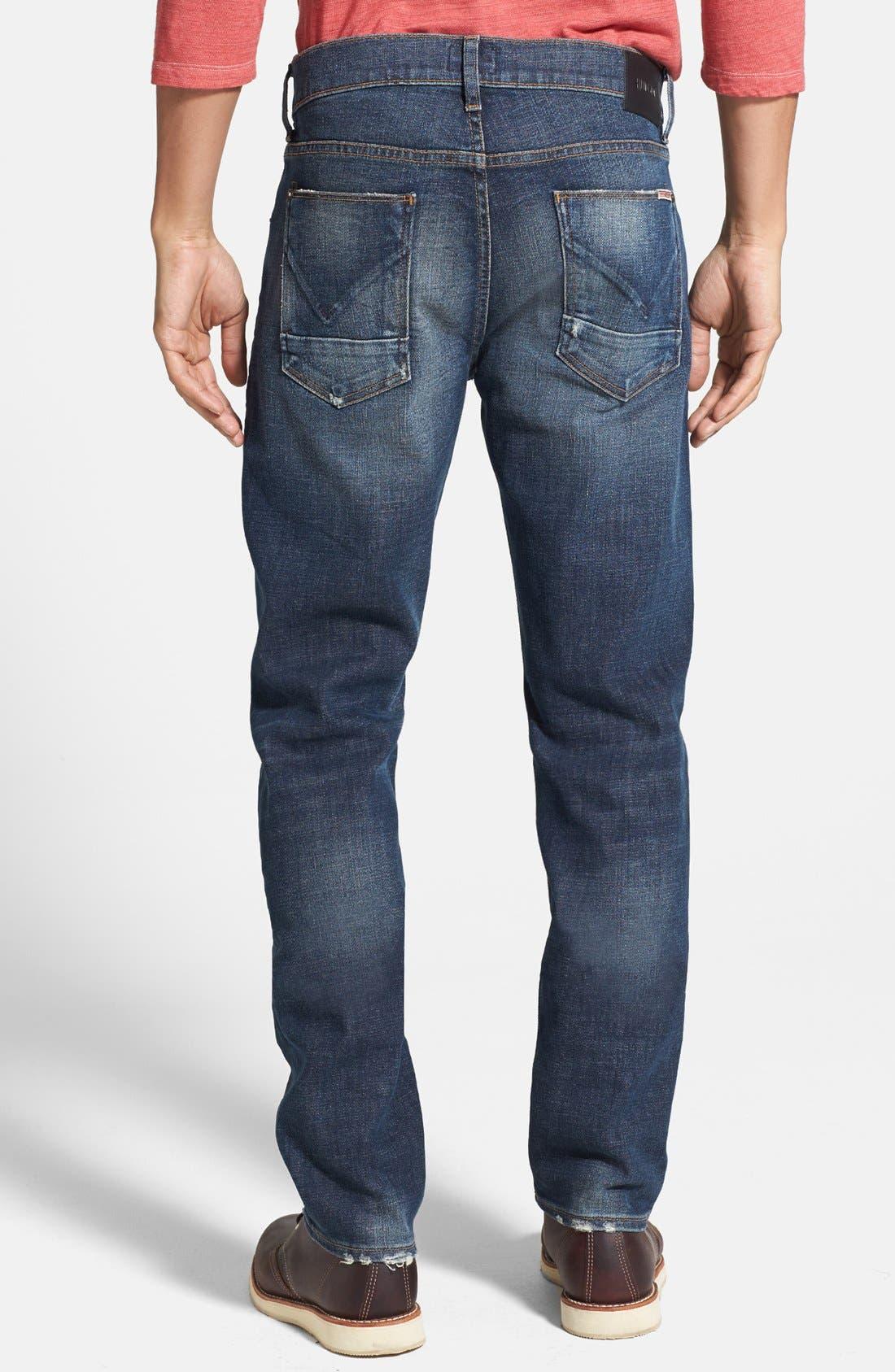 Alternate Image 2  - Hudson Jeans 'Blake' Slim Straight Leg Jeans (Thieves)
