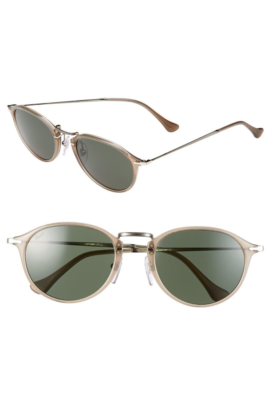 Alternate Image 1 Selected - Persol 51mm Defined Bridge Sunglasses