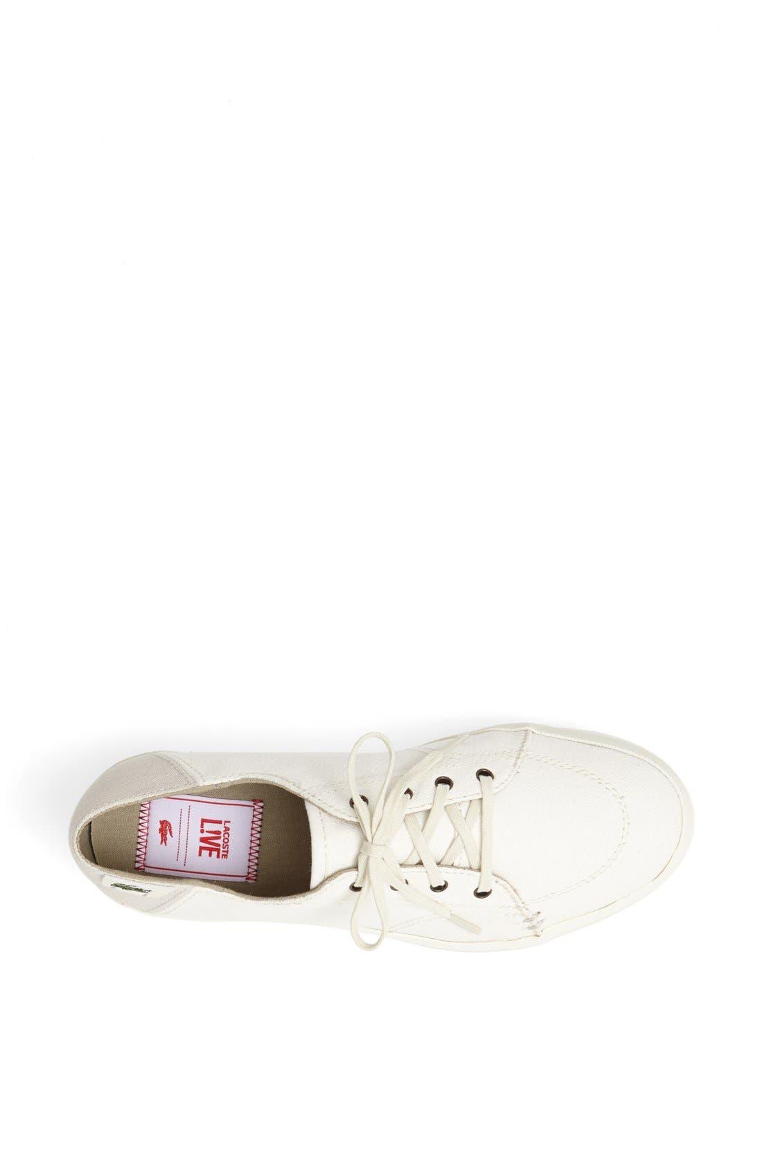 Alternate Image 4  - Lacoste 'Kirton' Platform Sneaker (Women) (Online Exclusive)