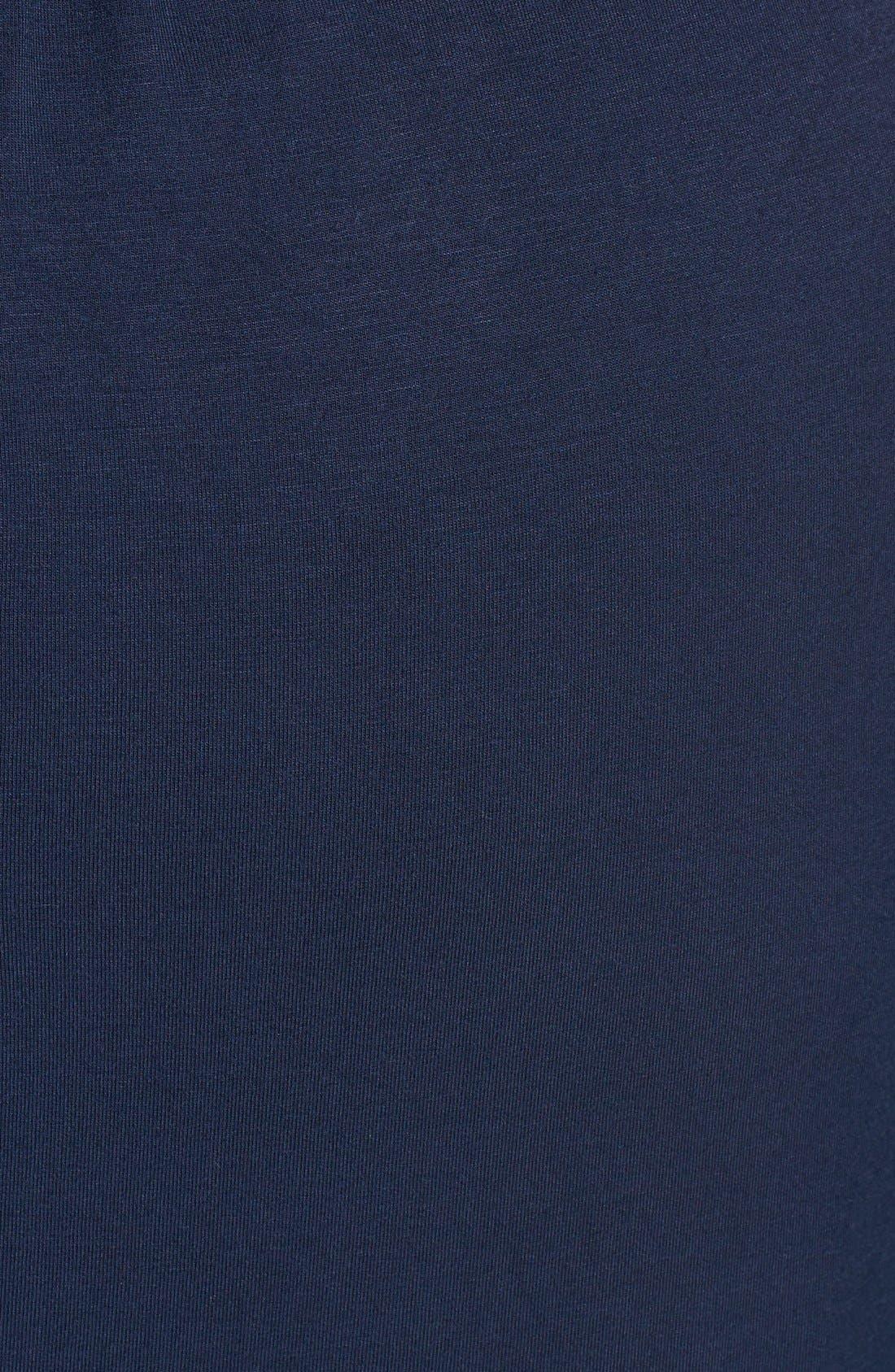 Alternate Image 3  - Loveappella V-Neck Jersey Maxi Dress (Plus Size)