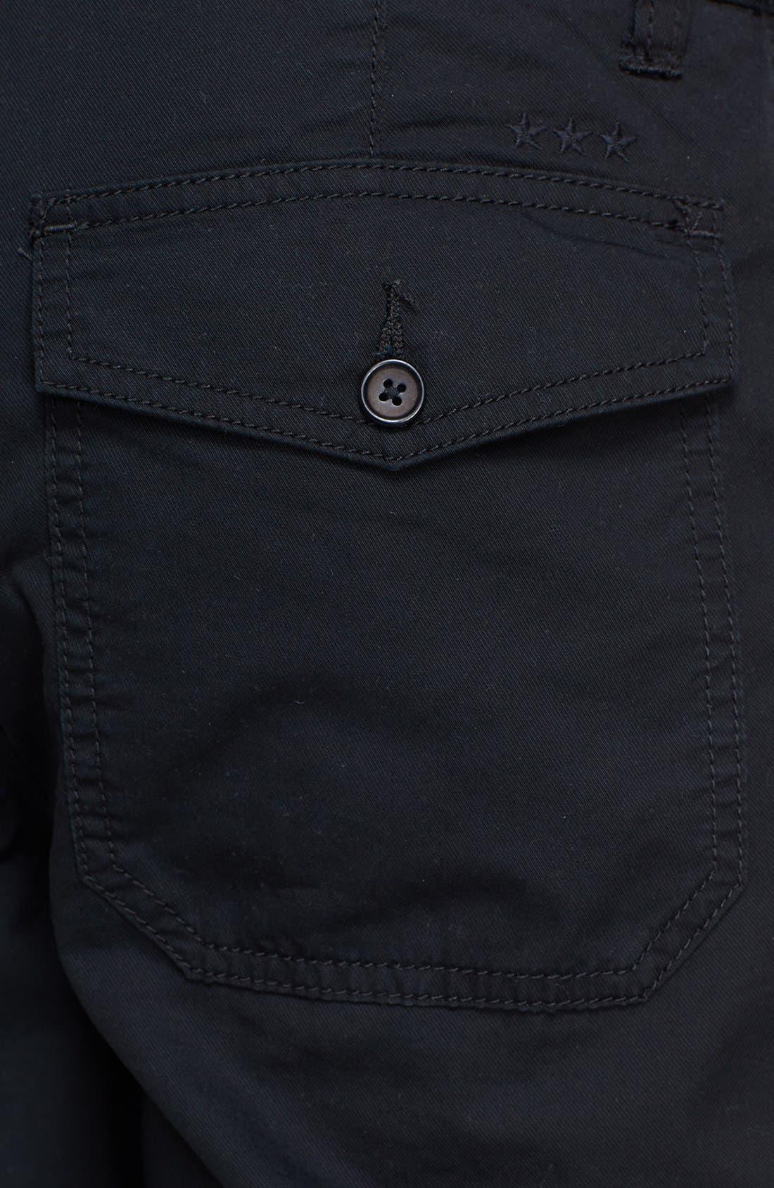 Alternate Image 3  - John Varvatos Star USA Flat Front Shorts