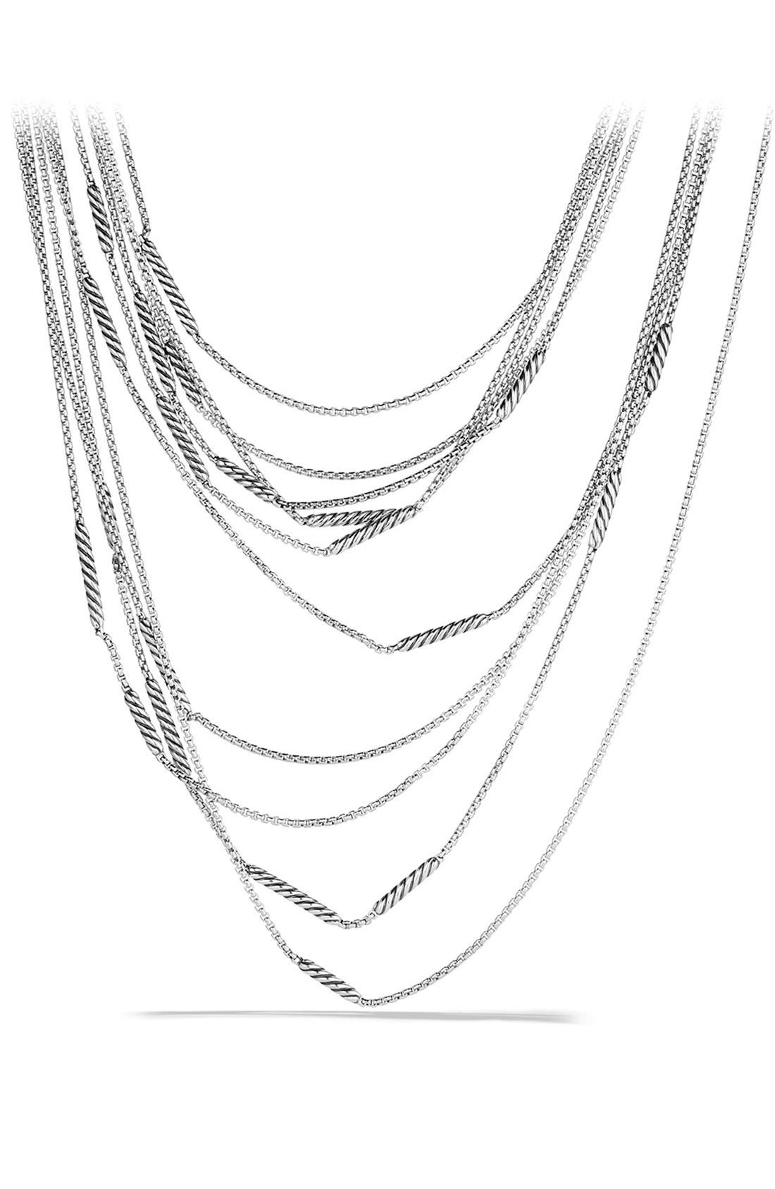 David Yurman 'Willow' Five-Row Chain Necklace