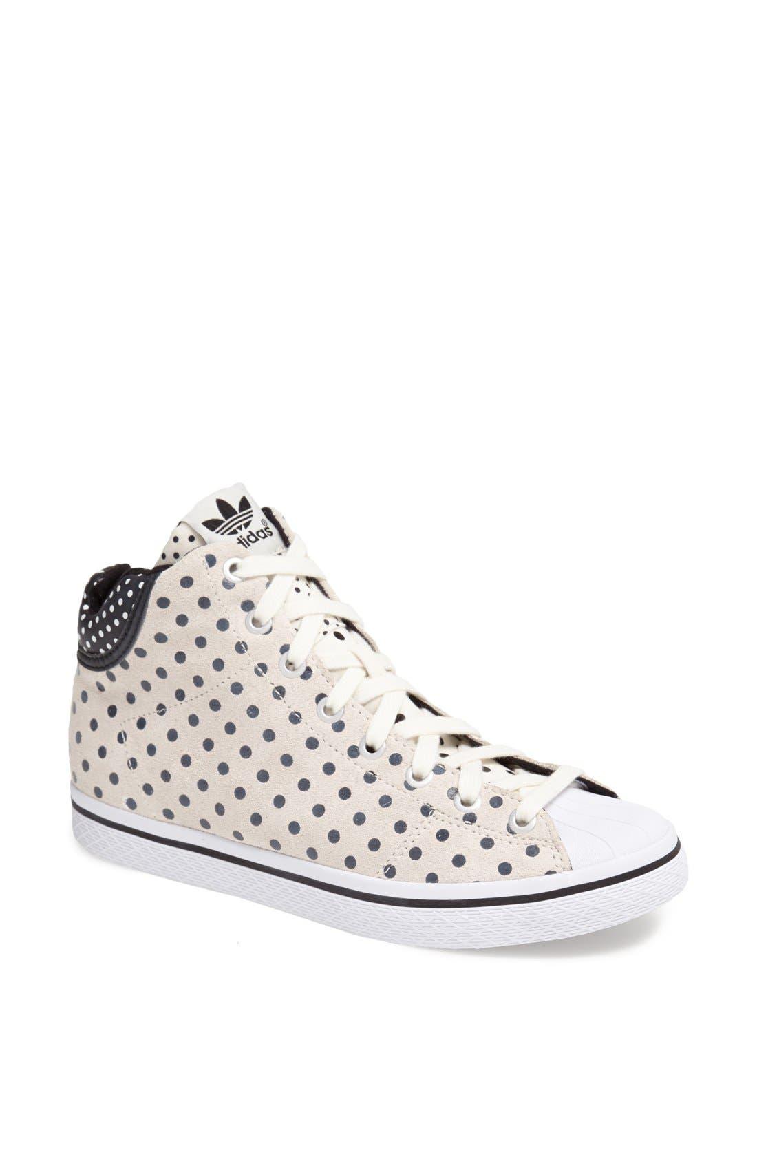 Alternate Image 1 Selected - adidas 'Star' High Top Sneaker (Women)
