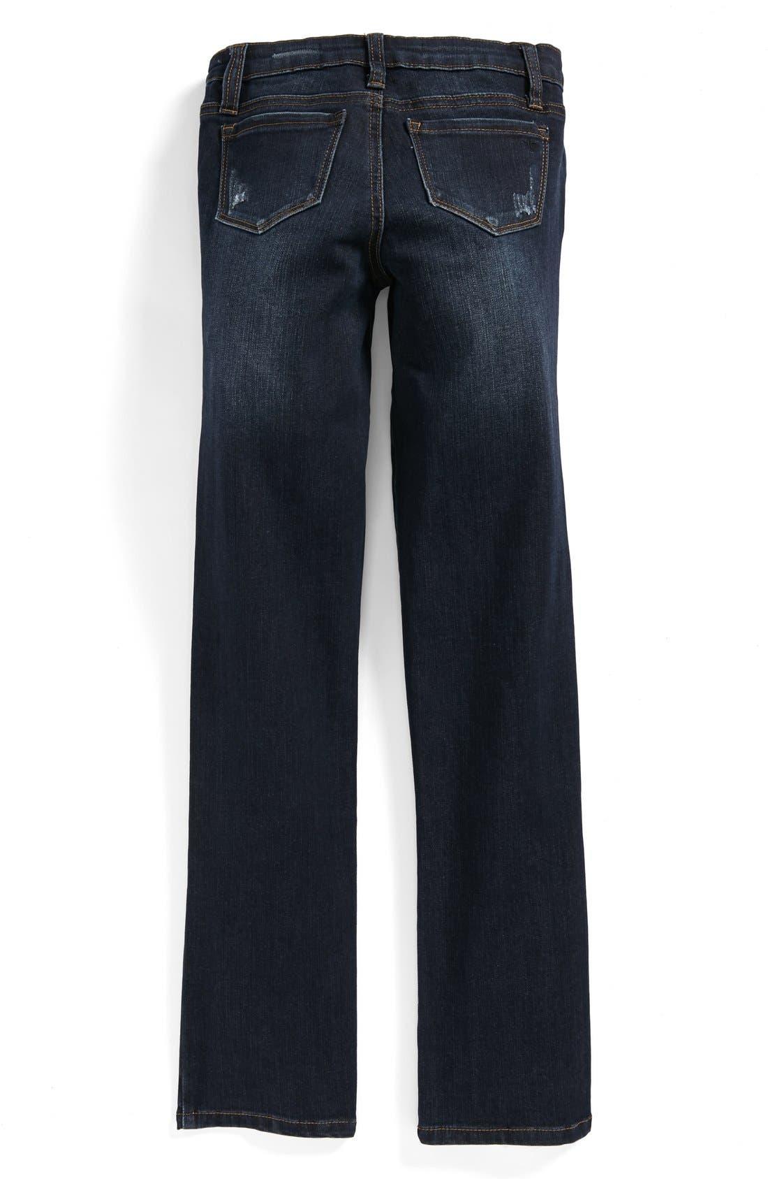 Main Image - Tractr Boyfriend Jeans (Big Girls)