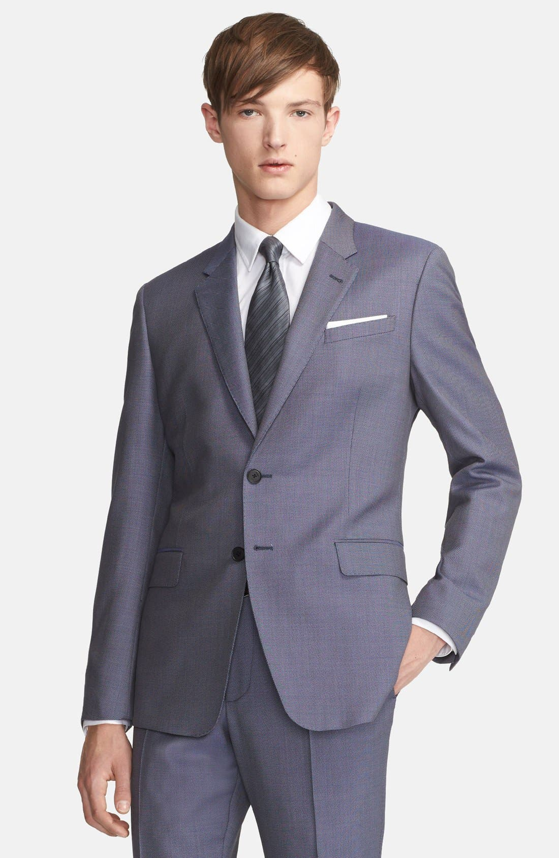 Alternate Image 3  - Paul Smith London 'Byard' Bird's Eye Wool Suit
