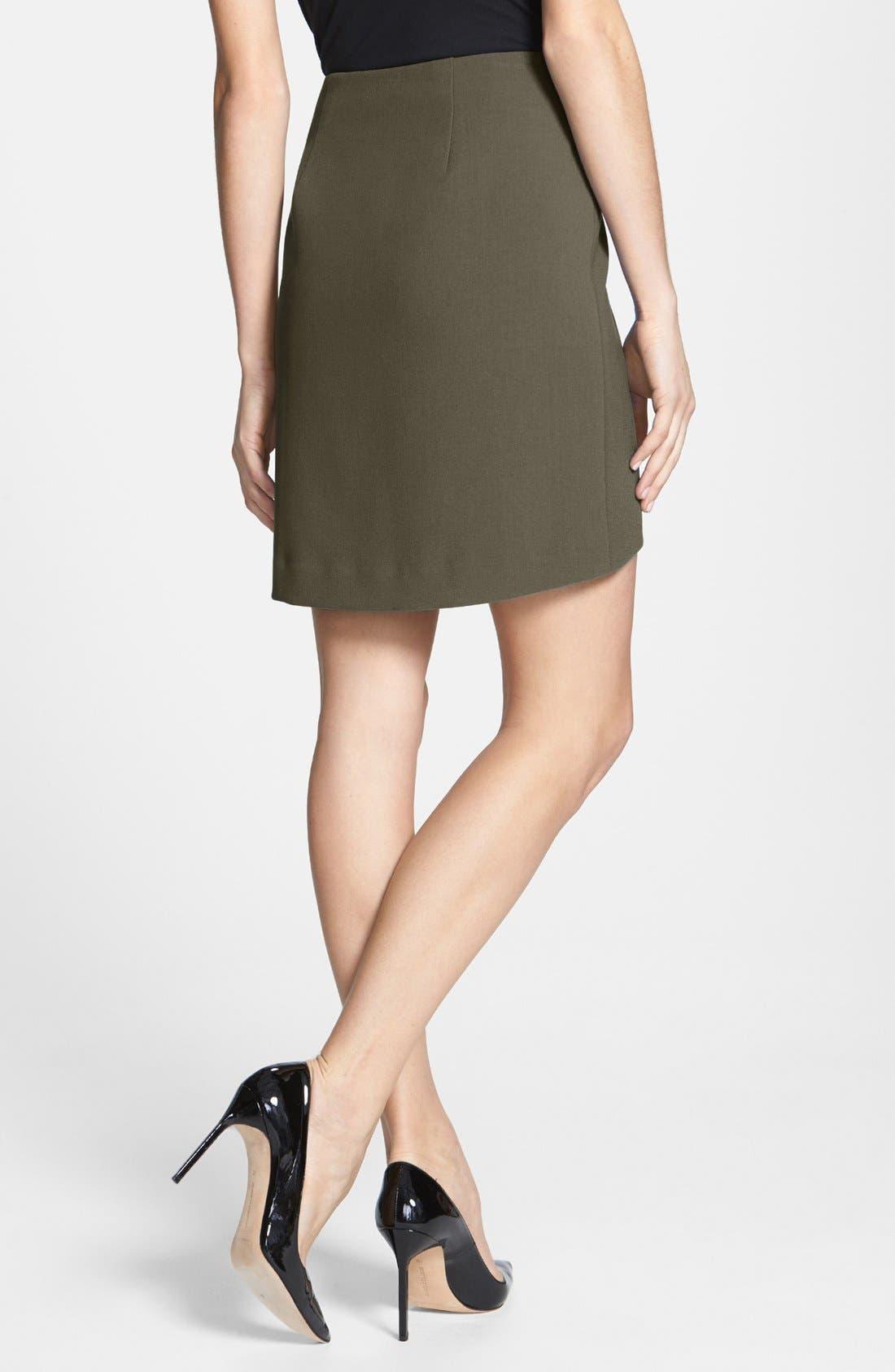 Alternate Image 2  - Trouvé Asymmetrical Miniskirt