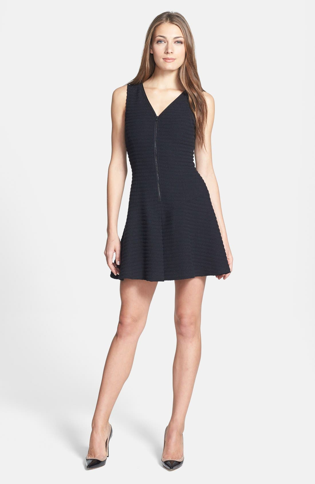 Main Image - Theory 'Sayidres' Knit Fit & Flare Dress