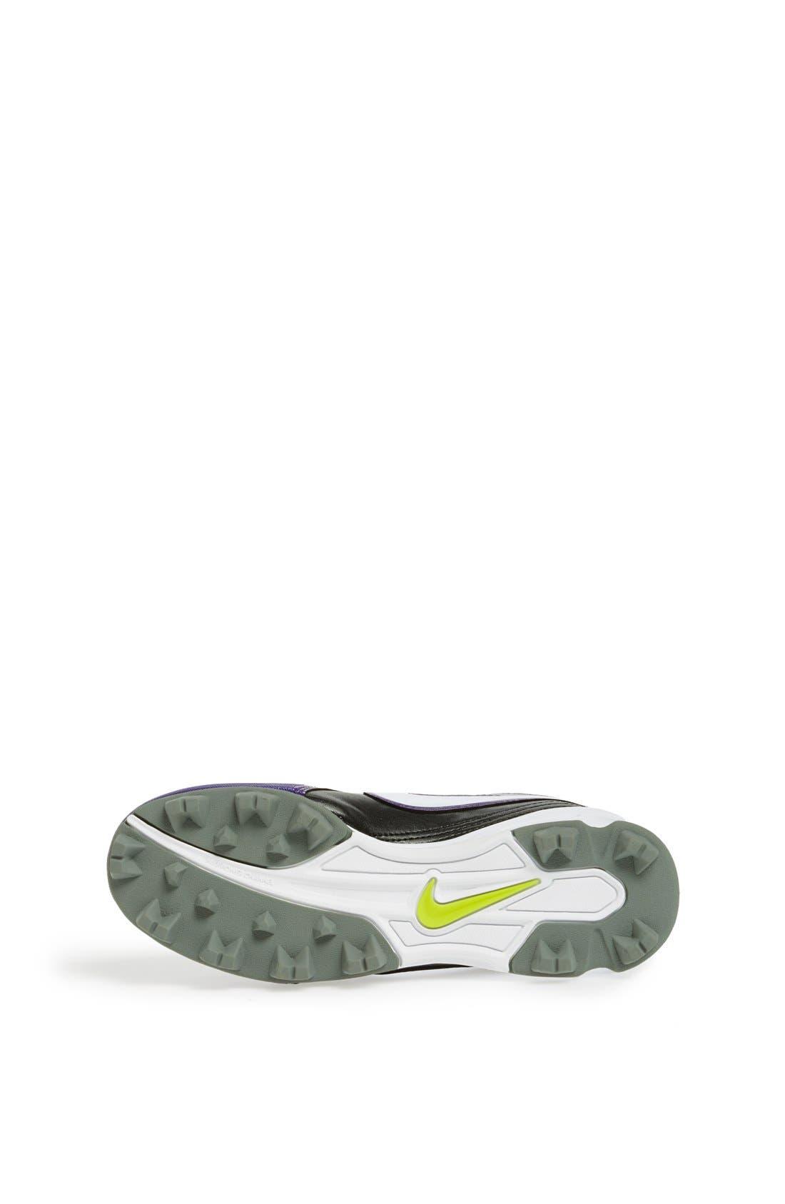 Alternate Image 4  - Nike 'Unify Keystone' Softball Cleat (Toddler, Little Kid & Big Kid)
