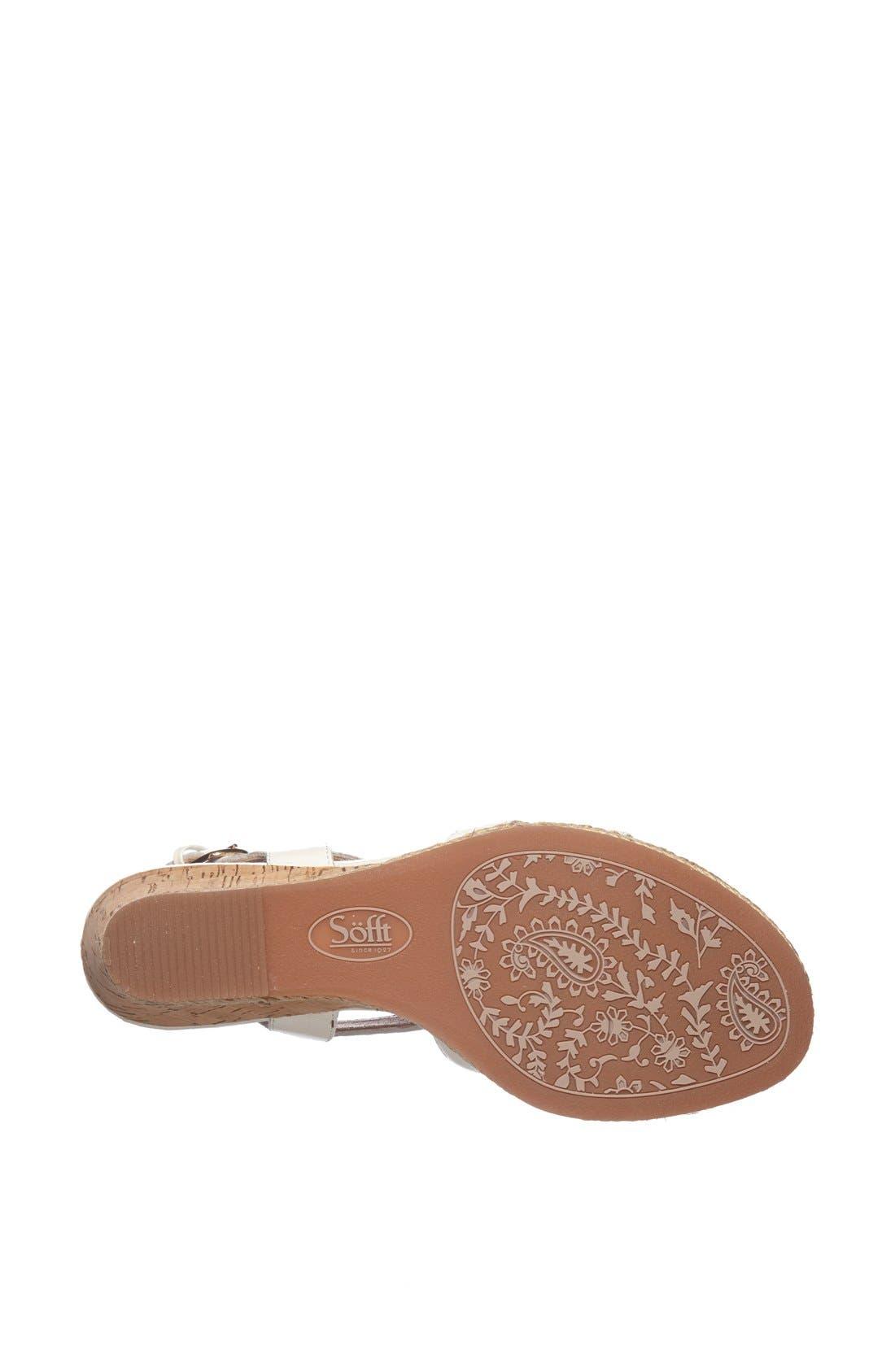 Alternate Image 4  - Söfft 'Ilene' Wedge Sandal