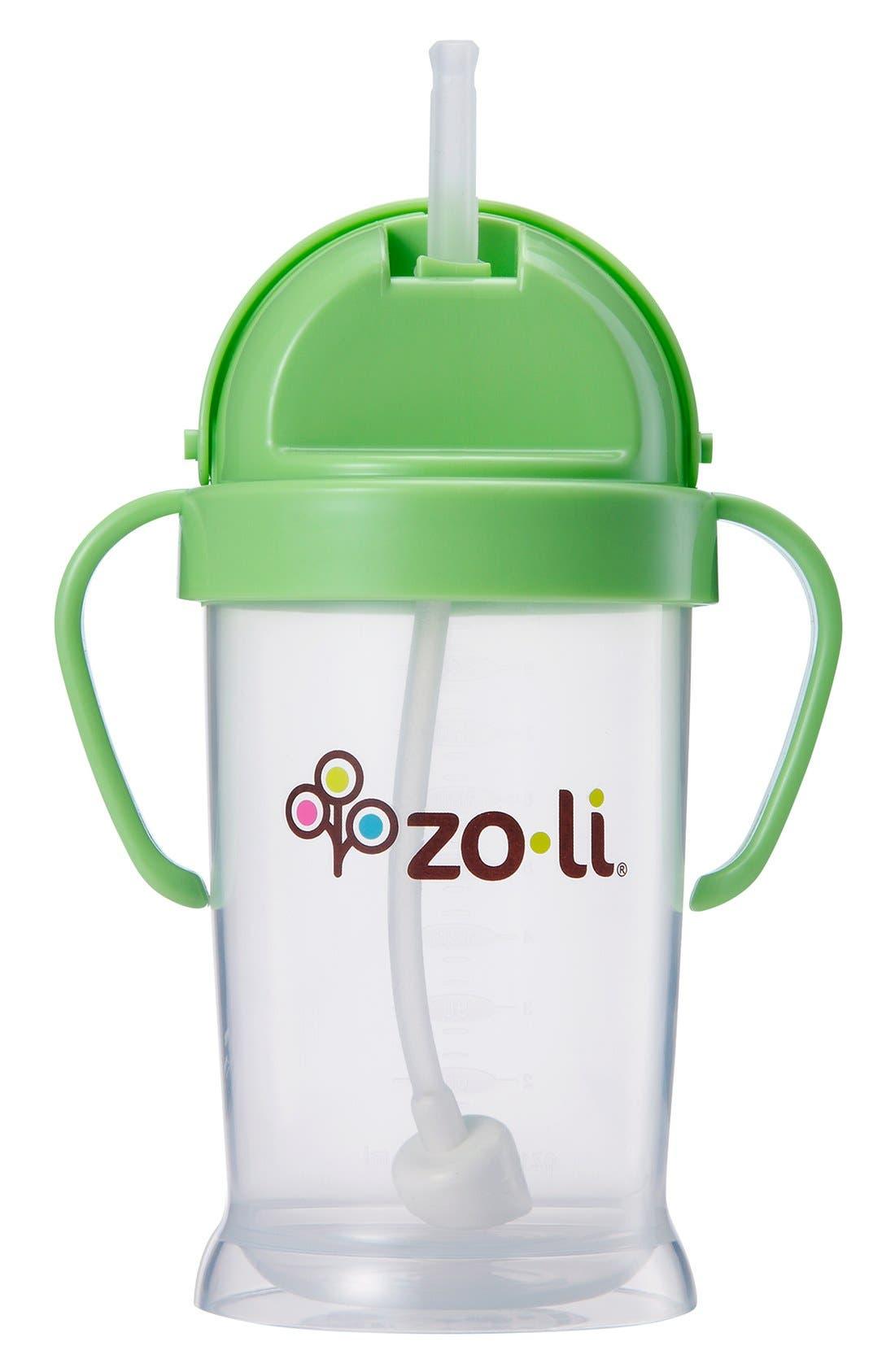 'BOT XL' Sippy Cup,                             Main thumbnail 1, color,                             Green