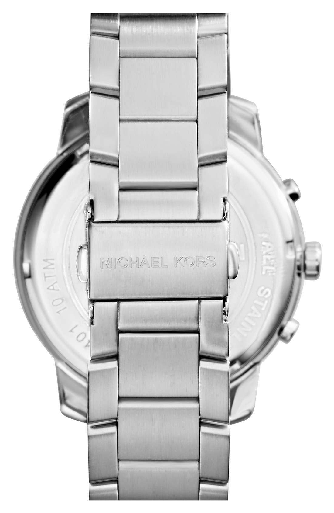 Alternate Image 2  - Michael Kors 'Granger' Ana-Digi Bracelet Watch, 45mm