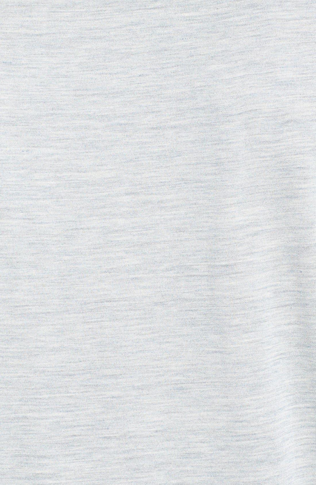 Alternate Image 3  - Daniel Buchler Silk & Cotton V-Neck T-Shirt