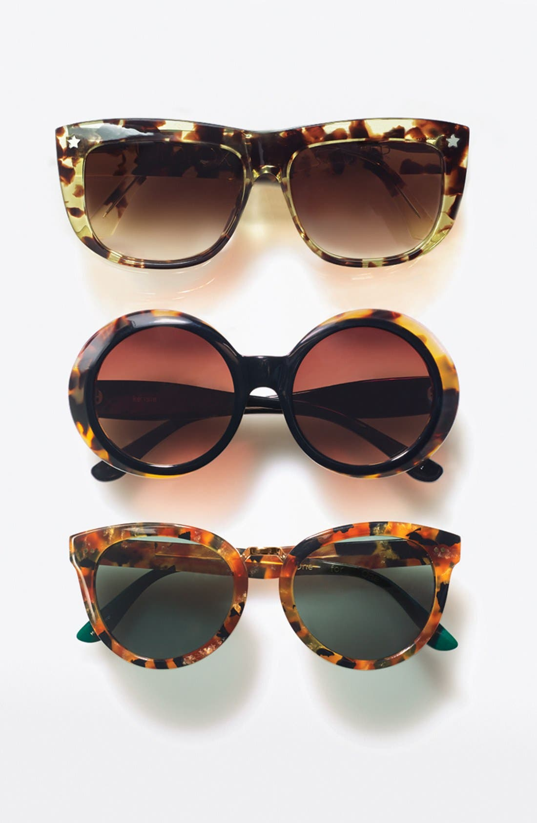 'Yvette' 52mm Sunglasses,                             Alternate thumbnail 4, color,