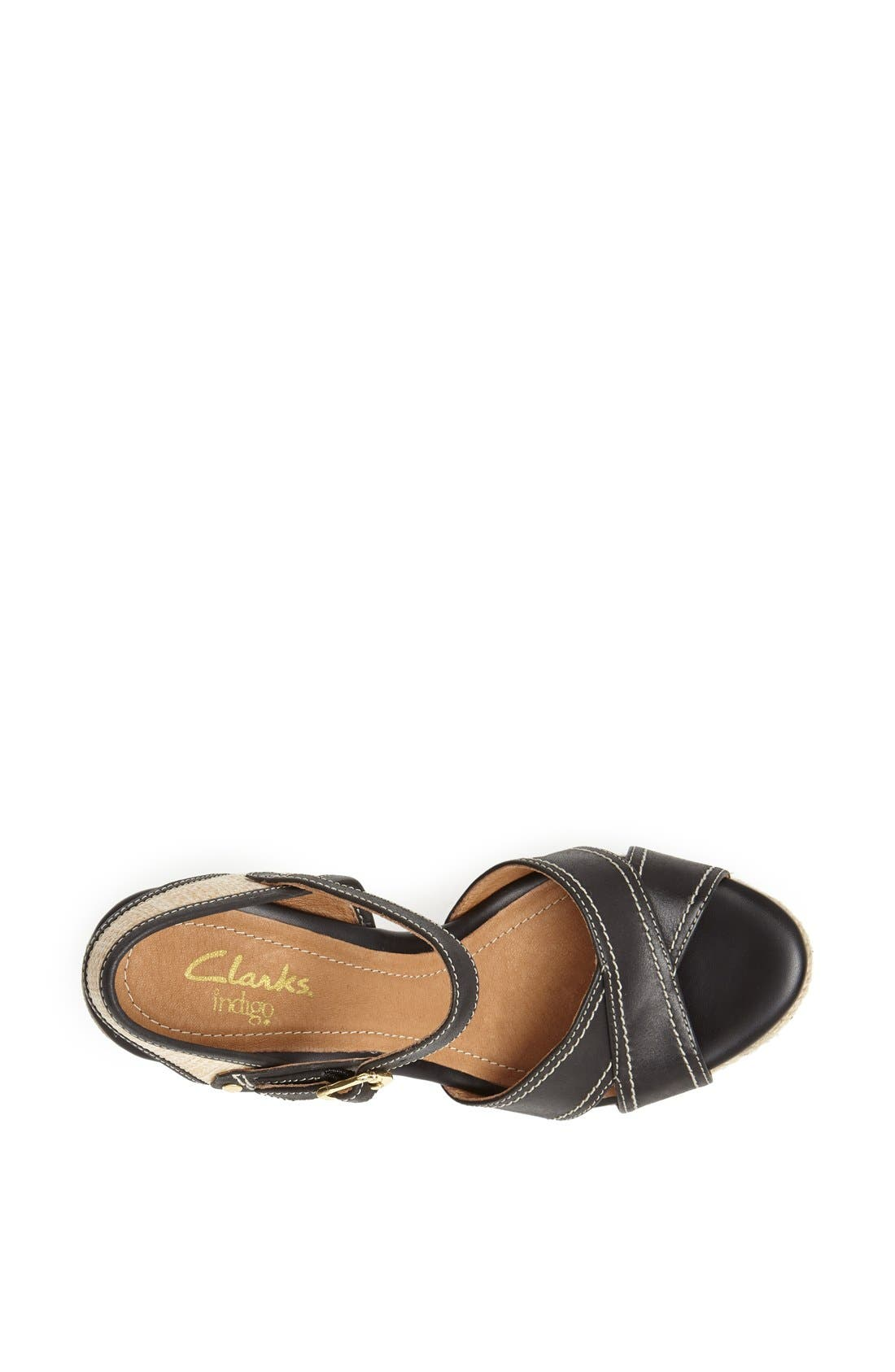 Alternate Image 4  - Clarks® 'Amelia Air' Espadrille Wedge Sandal