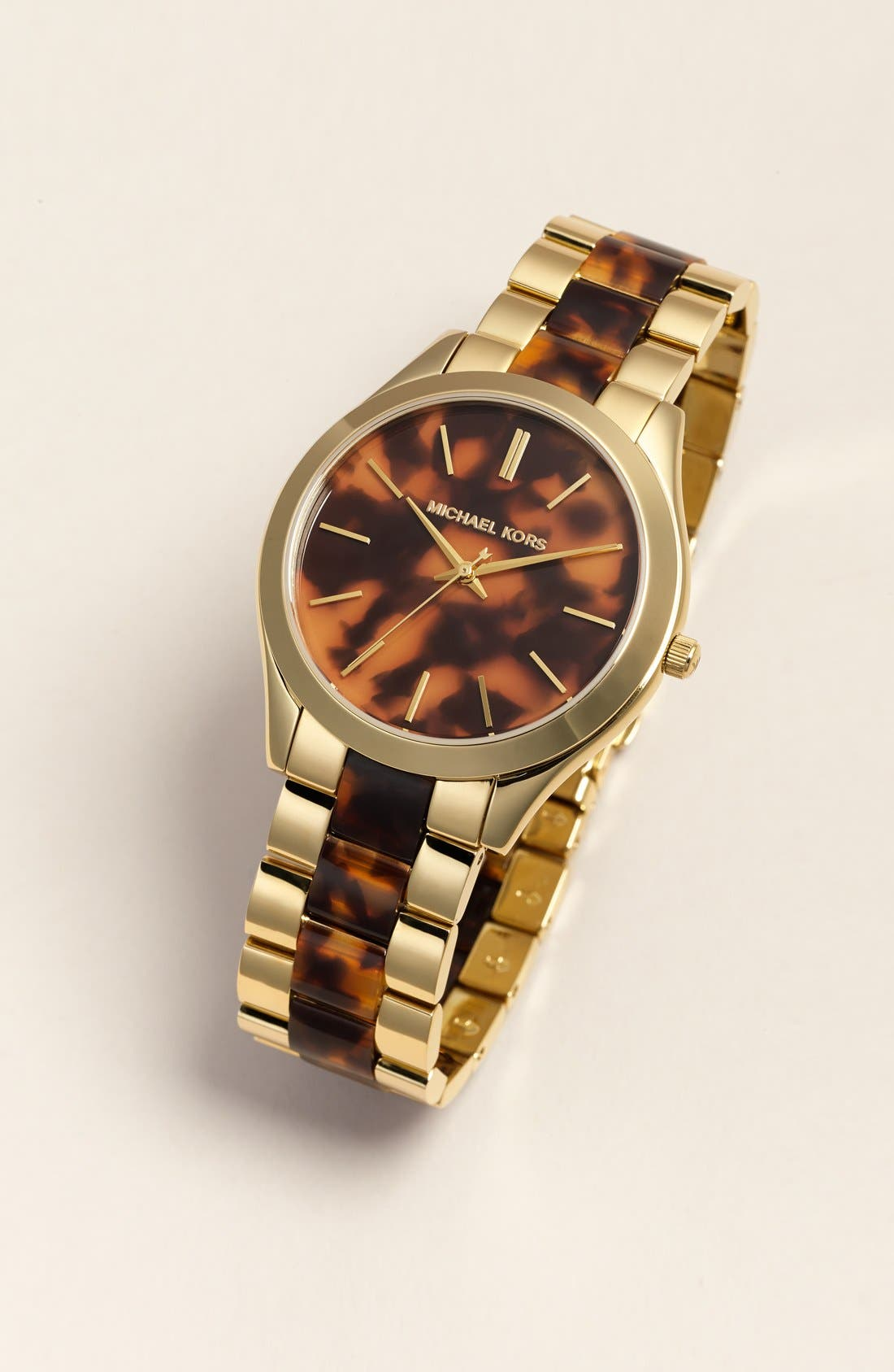 Michael Kors 'Slim Runway' Round Bracelet Watch, 42mm,                             Alternate thumbnail 6, color,