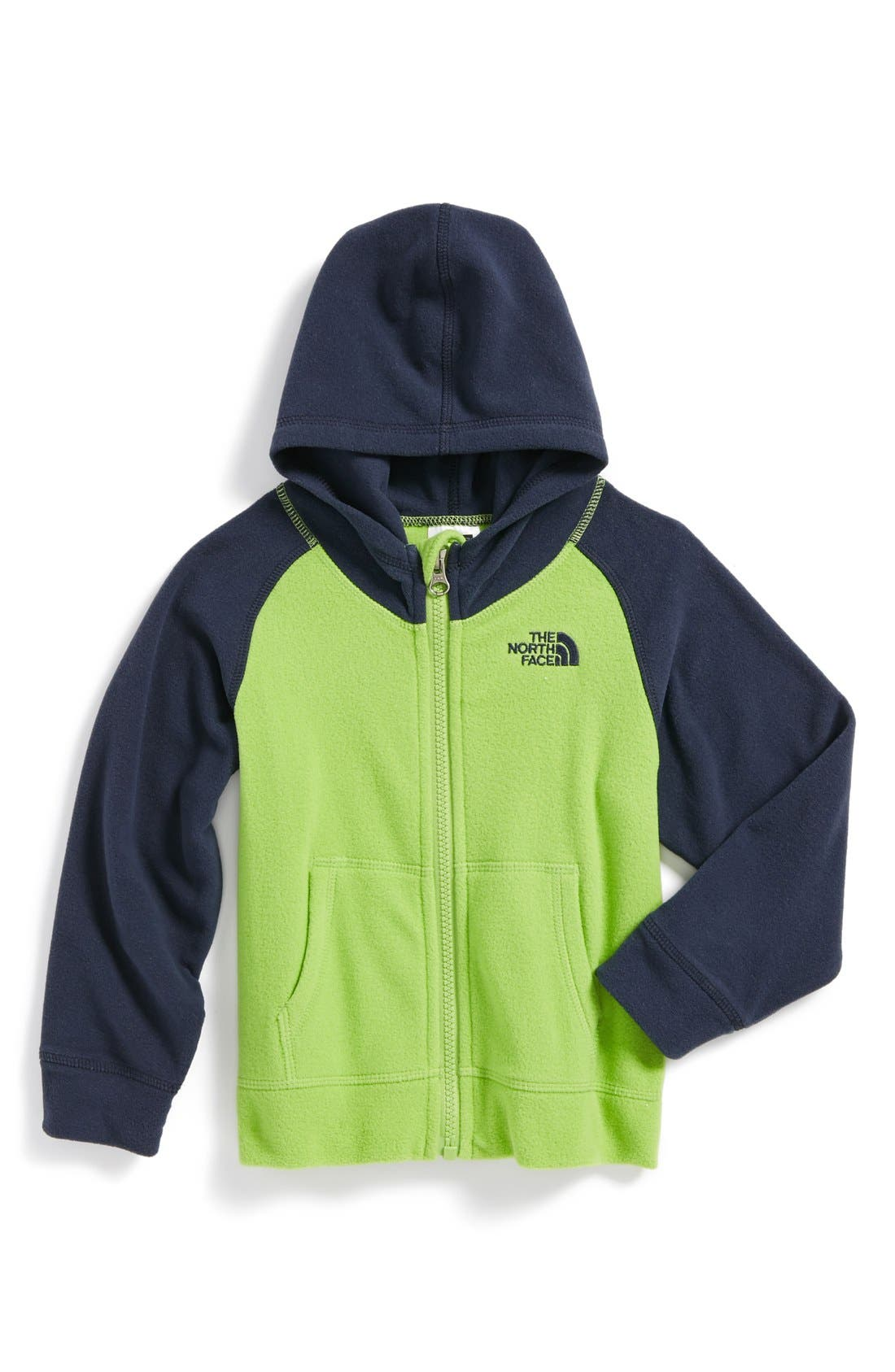 Main Image - The North Face 'Glacier' Hoodie (Toddler Boys)