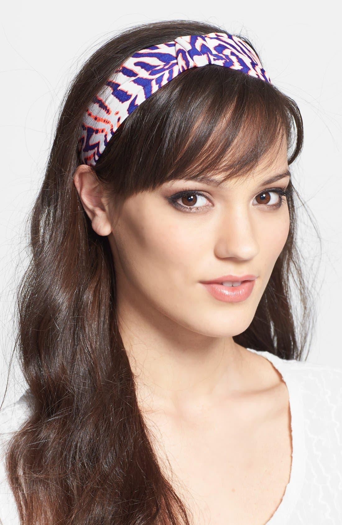 Main Image - Cara 'Neon Splash' Turban Headband