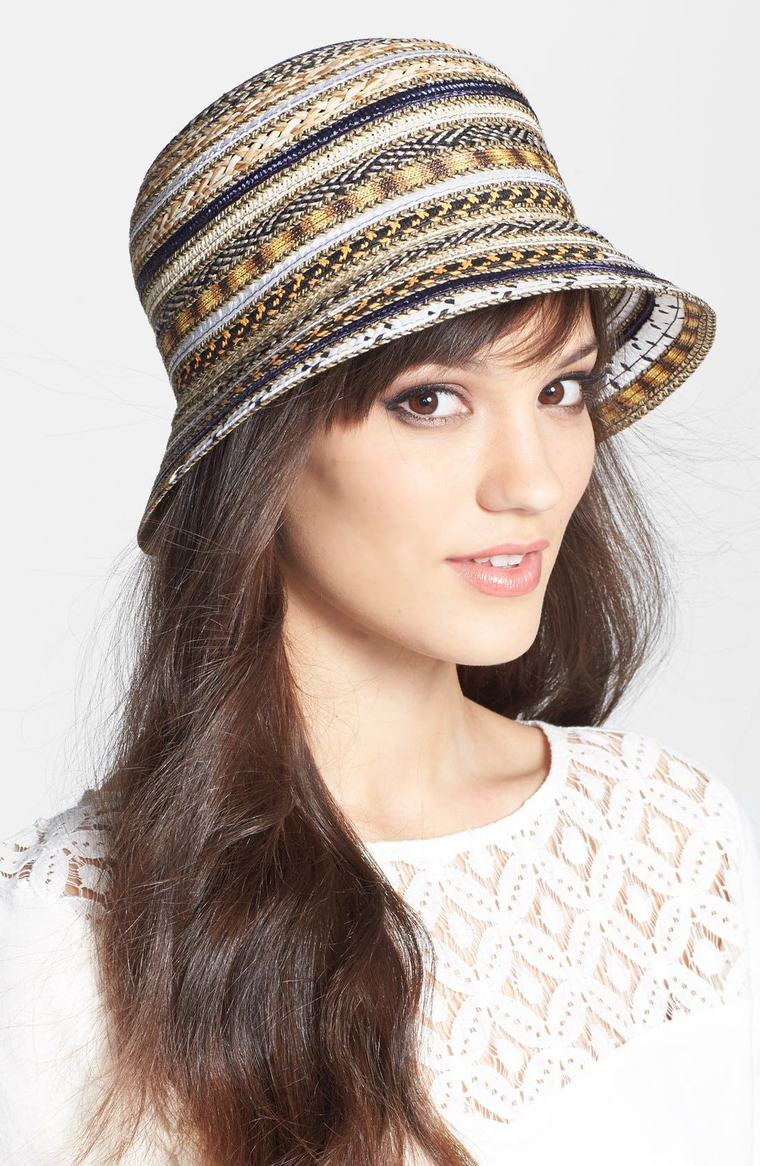 Alternate Image 1 Selected - Nordstrom Multi Ribbon Cloche