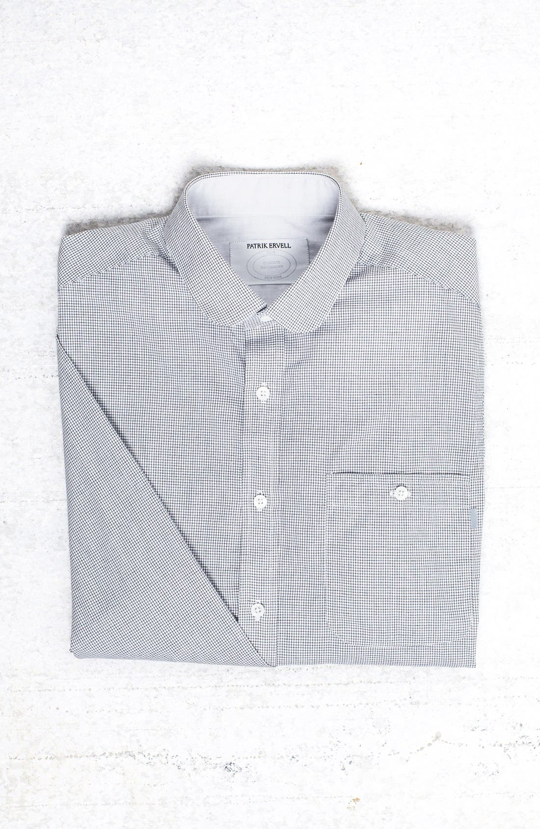 Alternate Image 1 Selected - Patrik Ervell Mini Check Woven Shirt