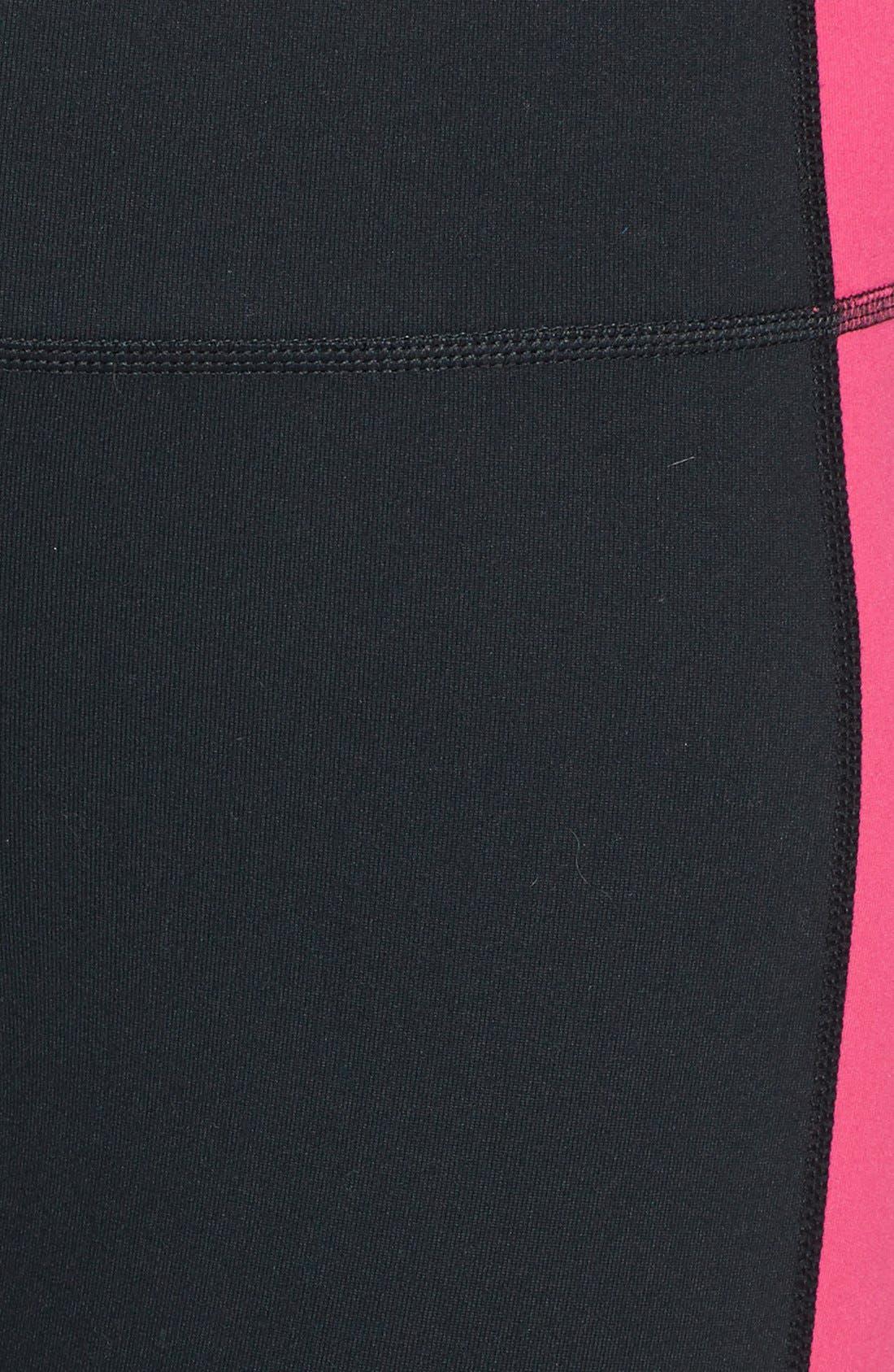 Alternate Image 3  - Zella 'Live In - Triple Blocked Tuxedo' Leggings