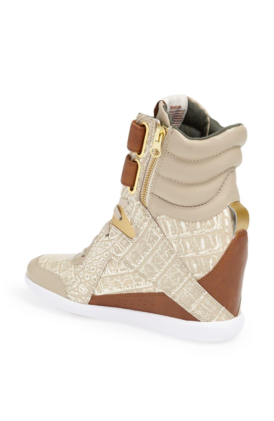 Alternate Image 2  - Reebok Wedge Sneaker