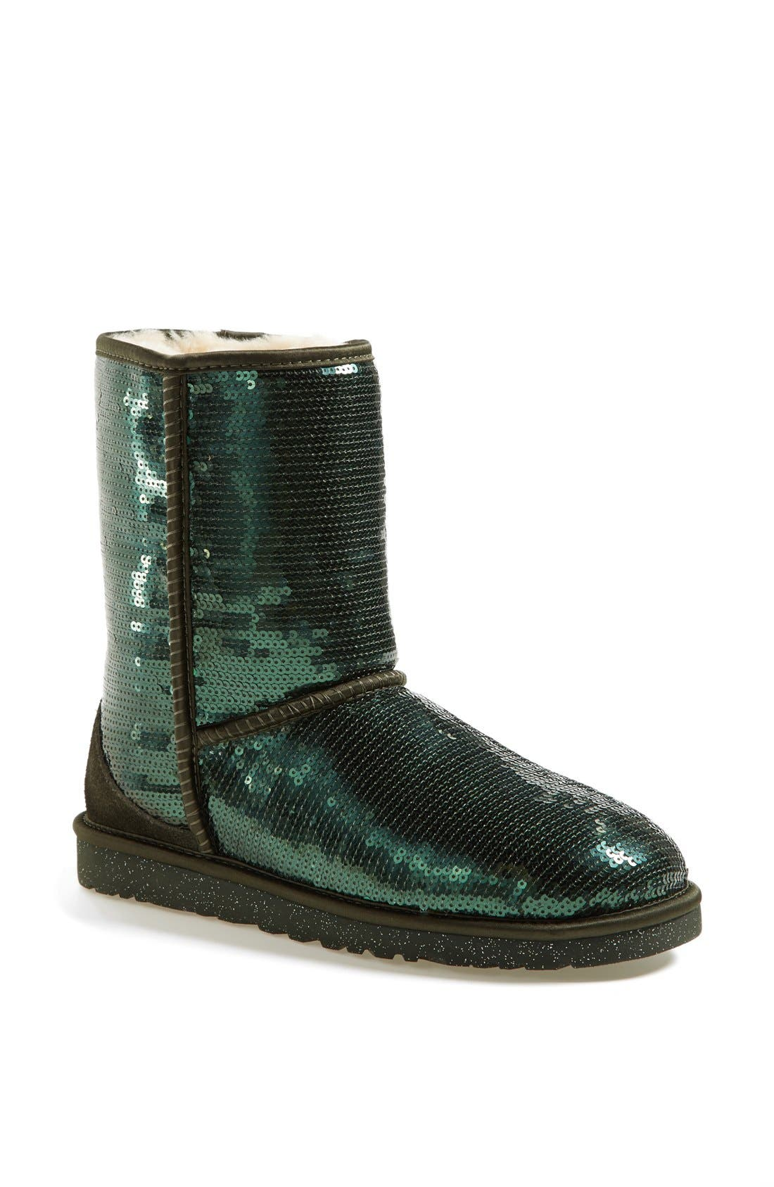 Alternate Image 1 Selected - UGG® Australia 'Classic Short Sparkles' Boot (Women)