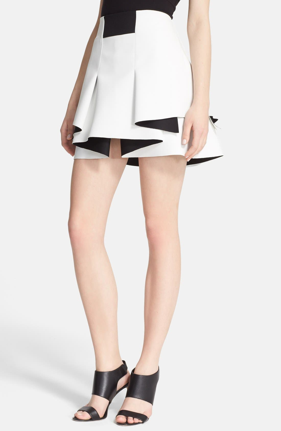 Alternate Image 1 Selected - Robert Rodriquez Bonded Neoprene Skirt