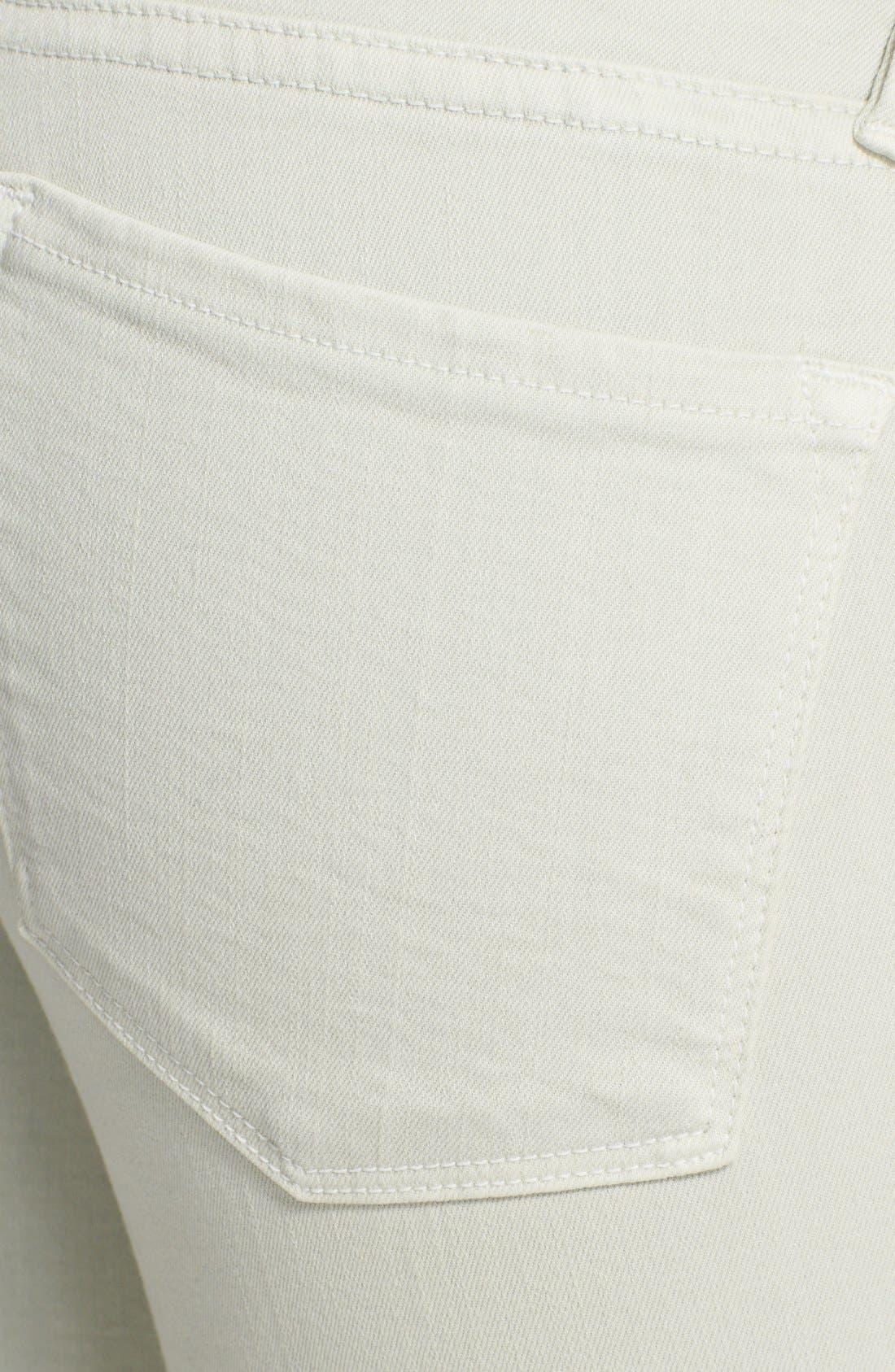 Alternate Image 3  - FRAME 'Le Color' Skinny Jeans (Pale Mint)