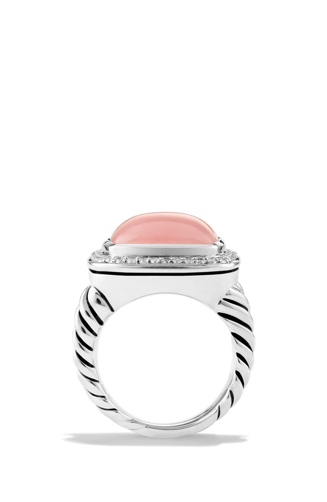 Alternate Image 2  - David Yurman 'Albion' Ring with Semiprecious Stone & Diamonds