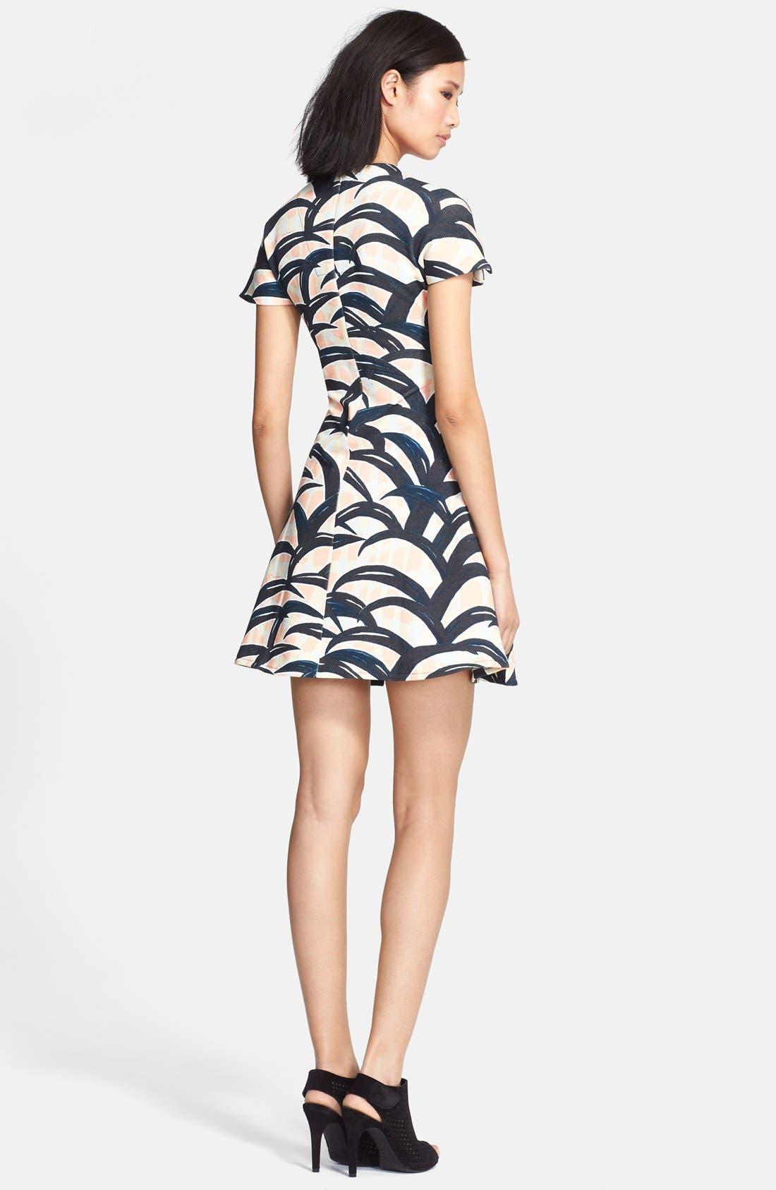 Alternate Image 2  - KENZO Patterned Cotton Dress