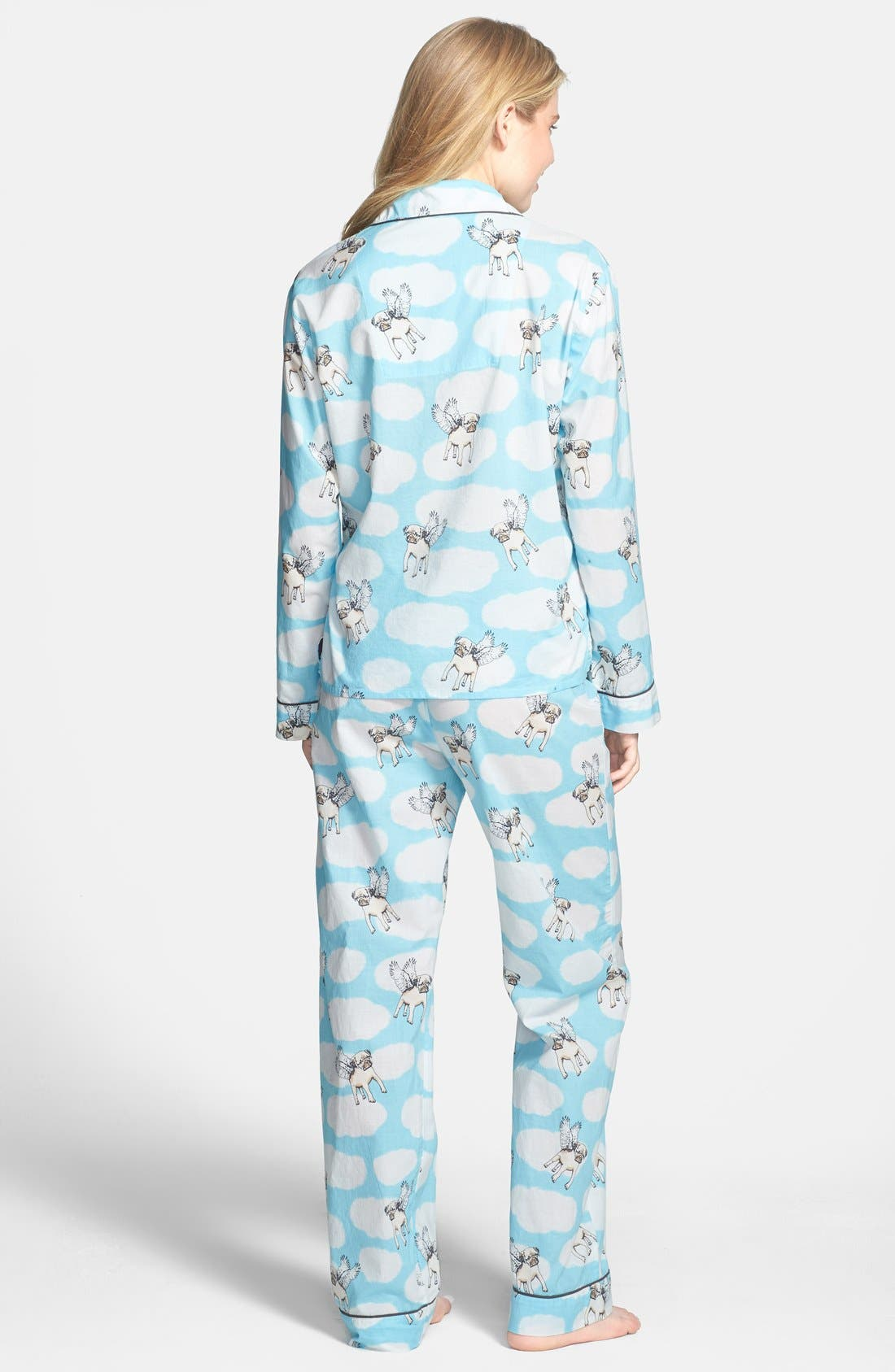 Alternate Image 2  - PJ Salvage 'Playful Prints' Cotton Voile Pajamas