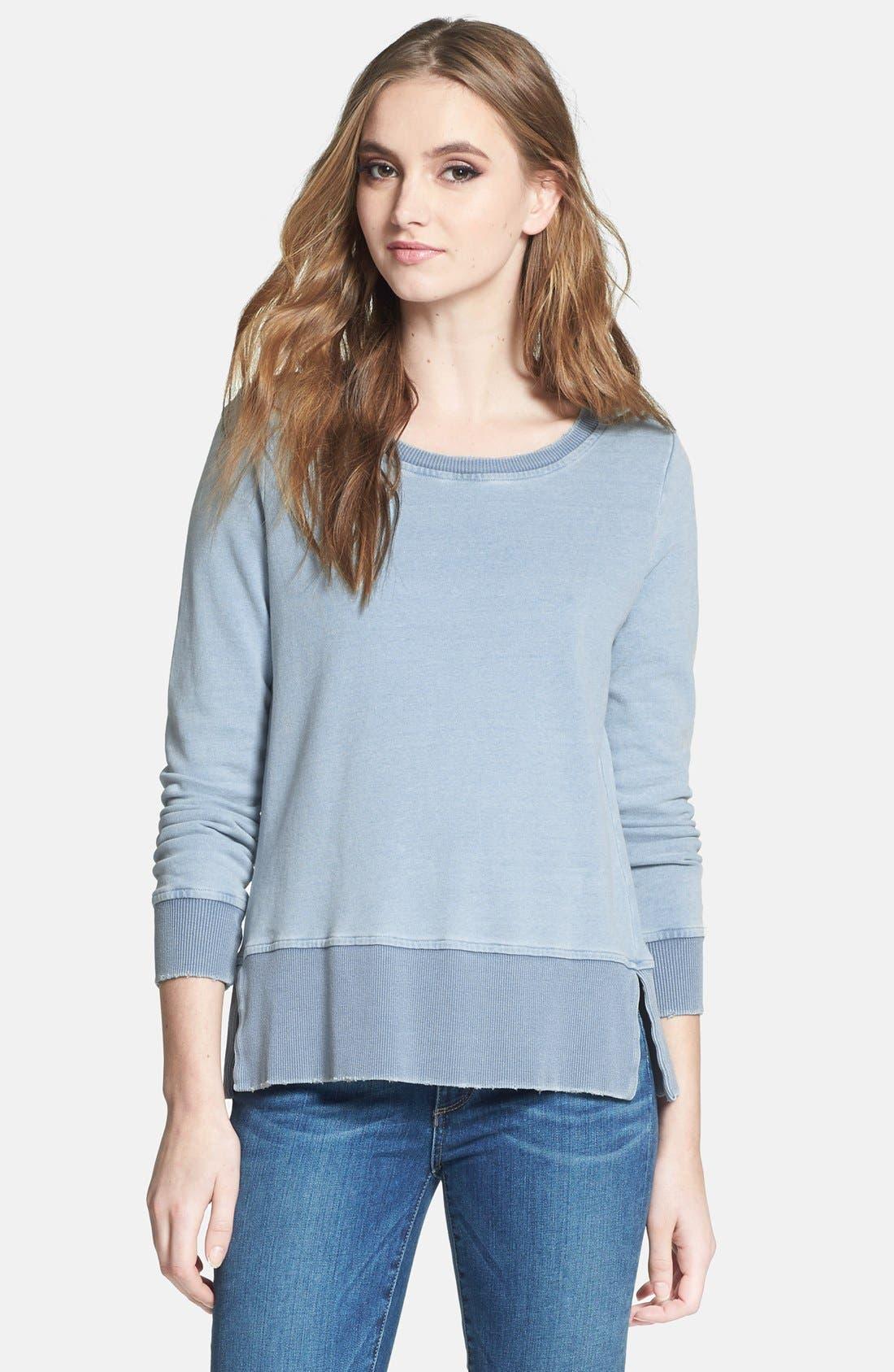 Alternate Image 1 Selected - Splendid French Terry Sweatshirt